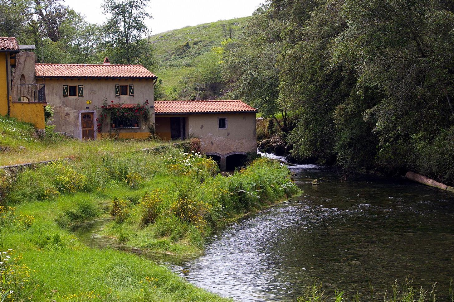 Foto playa Troenzo. Casa del Molino, Niembro, LLanes, Asturias