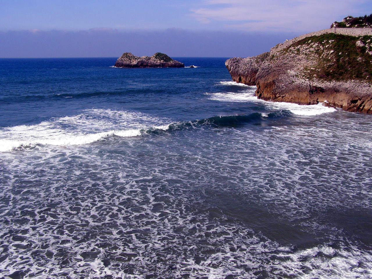 Foto playa Borizo / Borizu. Celorio, LLanes, Asturias