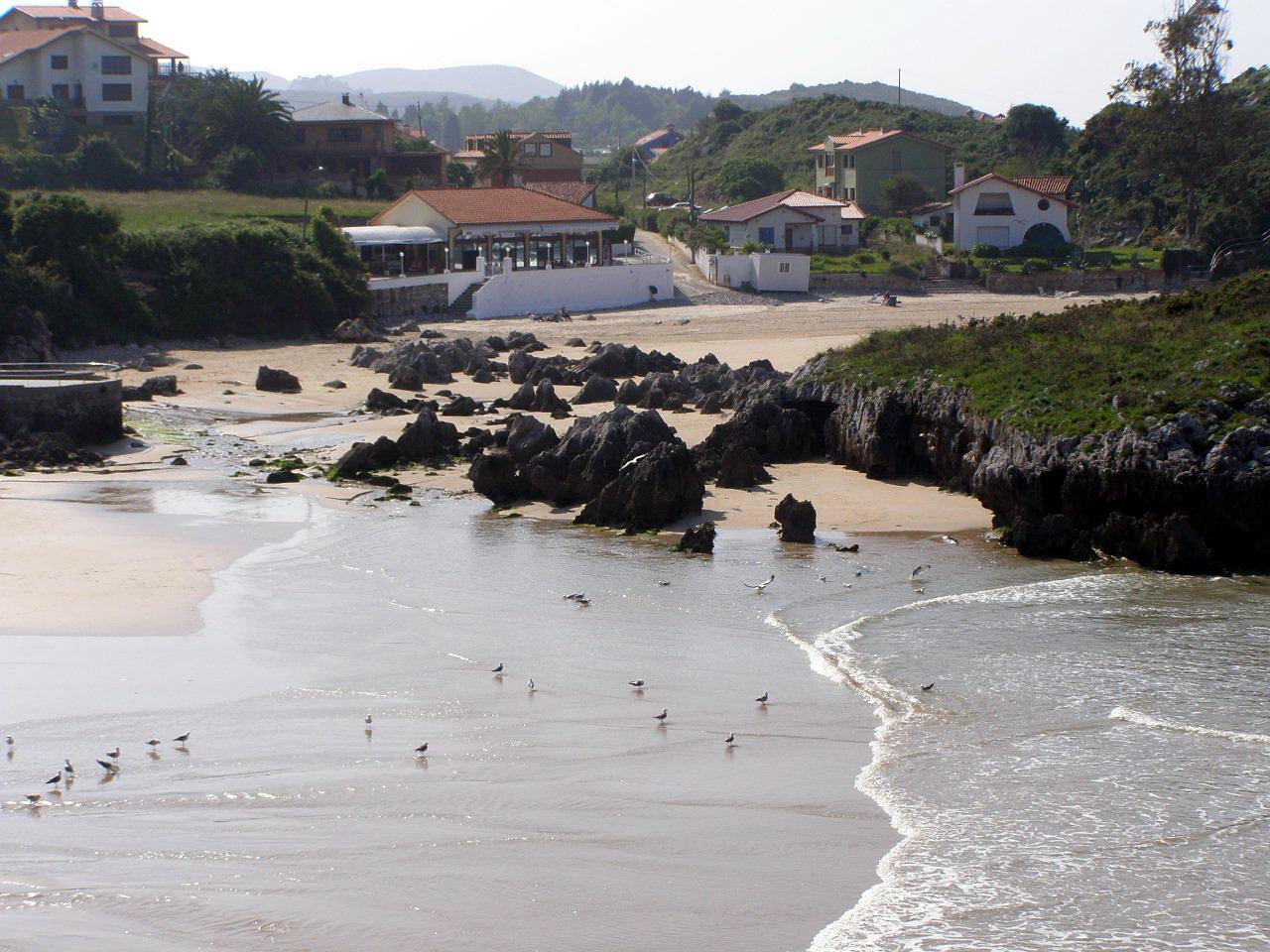 Foto playa Borizo / Borizu. Playa de la Palombina, Celorio, LLanes, Asturias