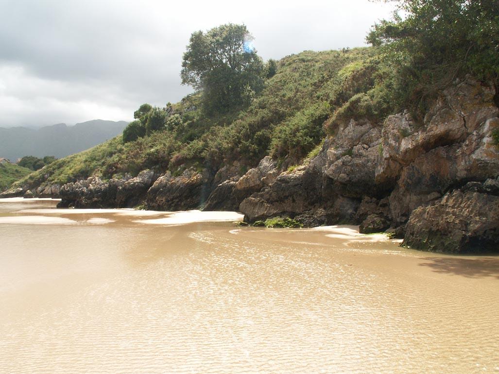 Foto playa El Portiello de San Martín. Playa de Poo