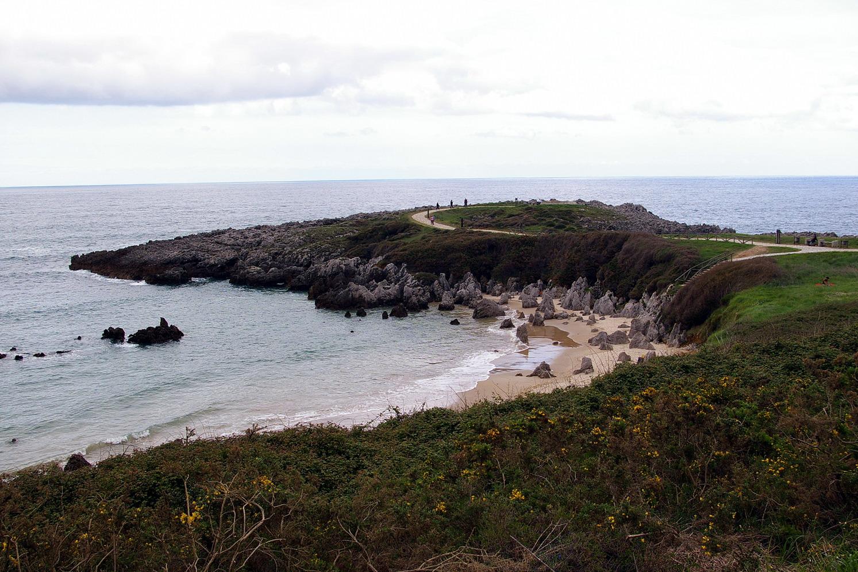 Foto playa Portiellu de Cué. Playa de Toró, LLanes, Asturias, España
