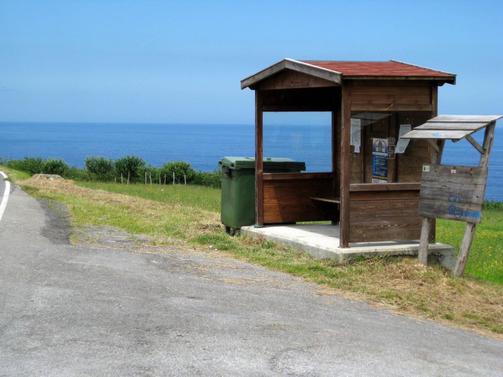 Foto playa Ballota. Bilddokumentation der Pilgerreise von San Sebastian nach Finesterre