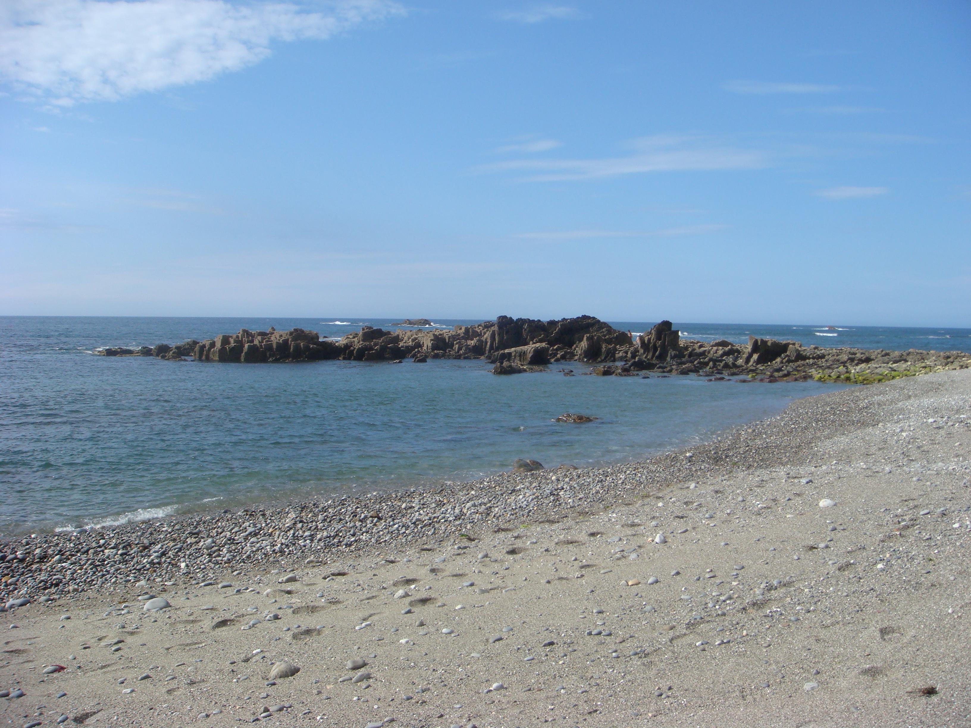 Foto playa Ballota. Playa de Río Cabo