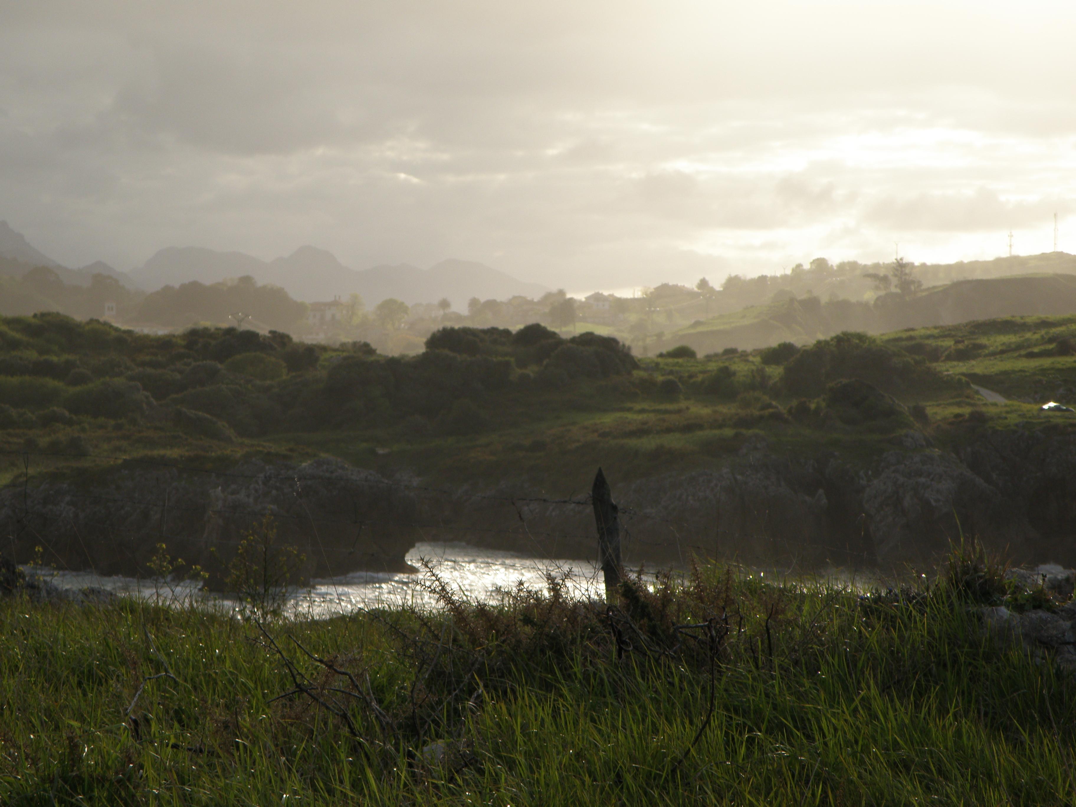 Foto playa Cobijeru. Brumas astures