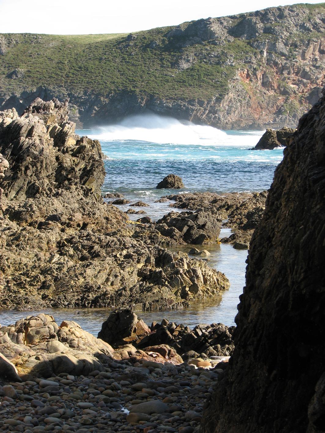 Foto playa El Oso. Mendía. La Franca. Principado de Asturia