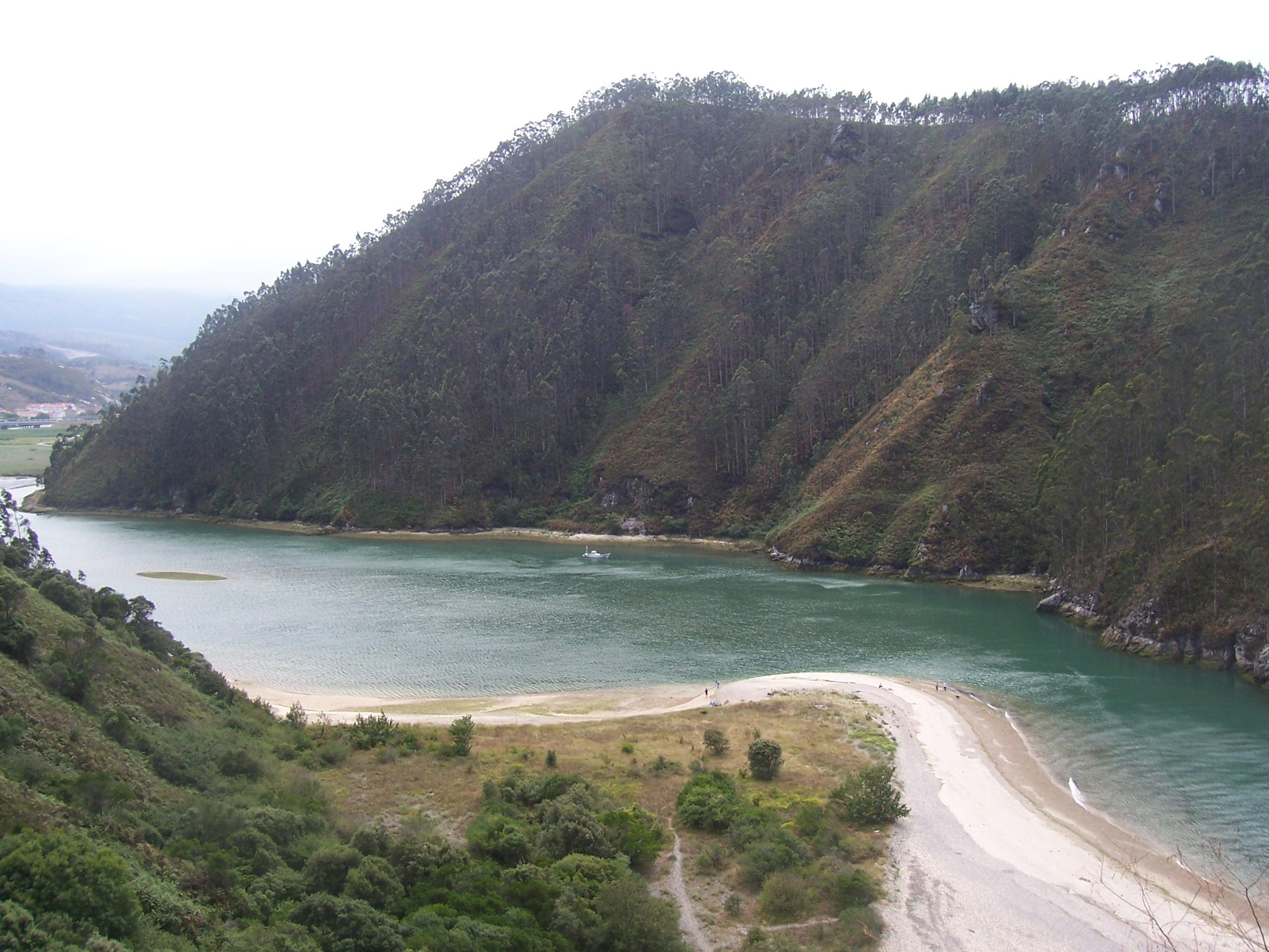 Foto playa Aramal. Ria Tina Mayor