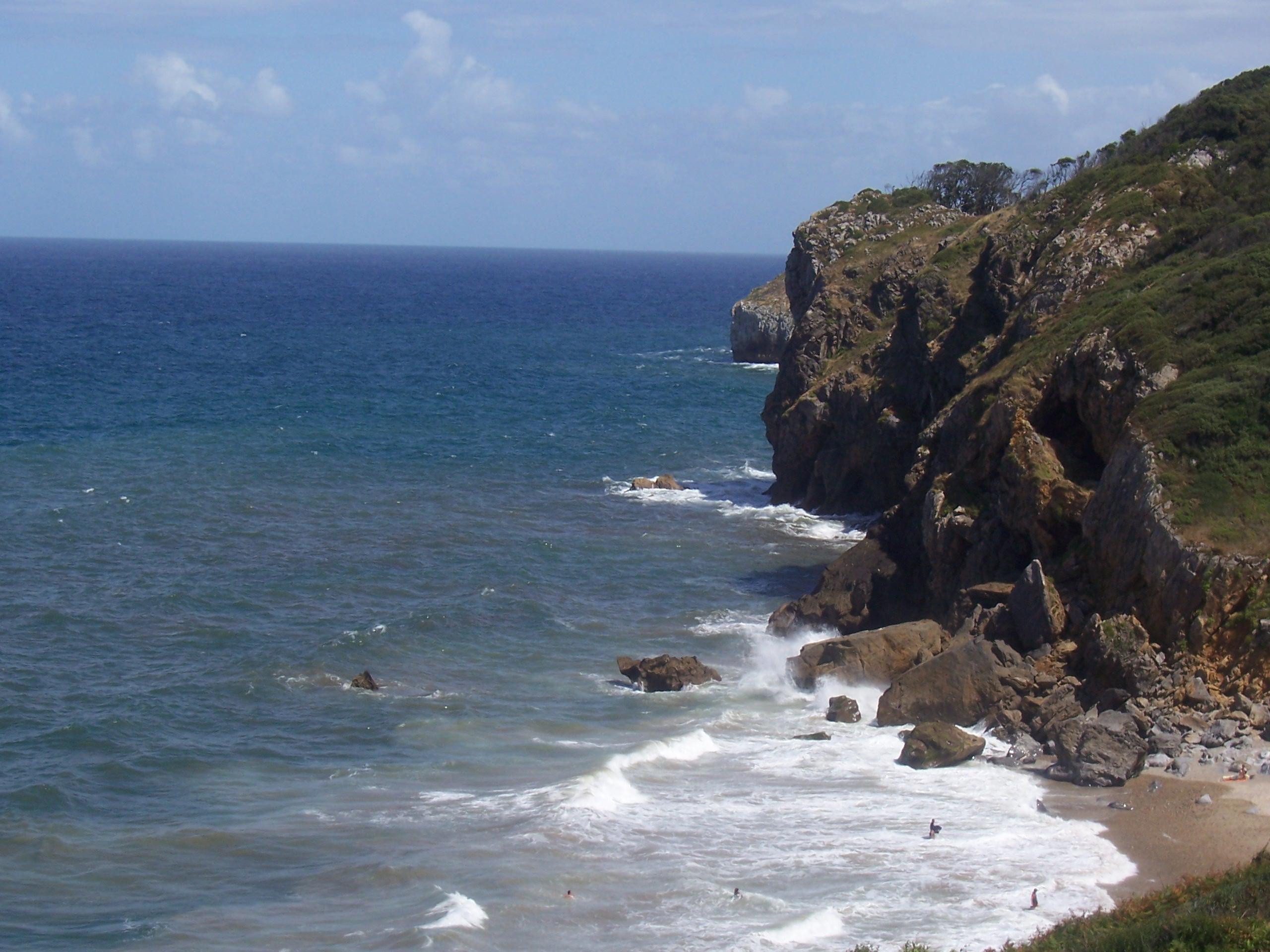 Foto playa Aramal. Playa Las Arenas