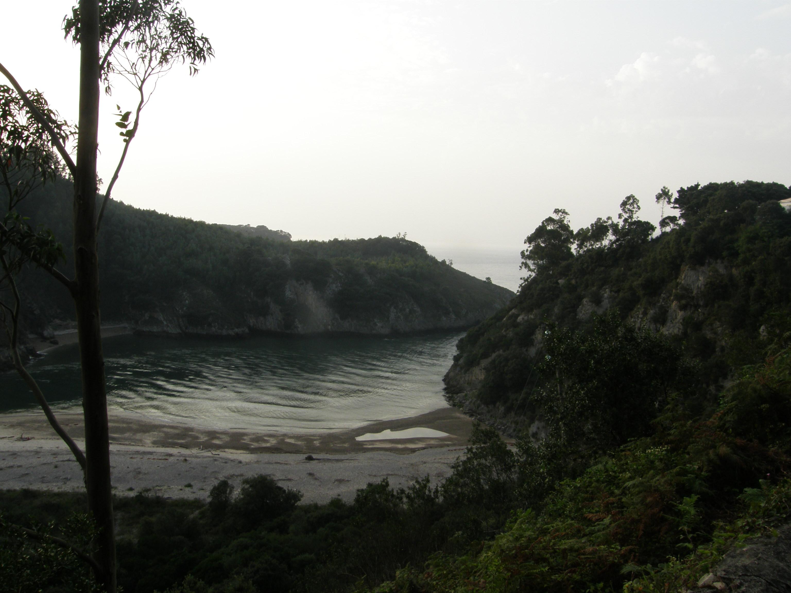 Foto playa Aramal. Playas de la ría