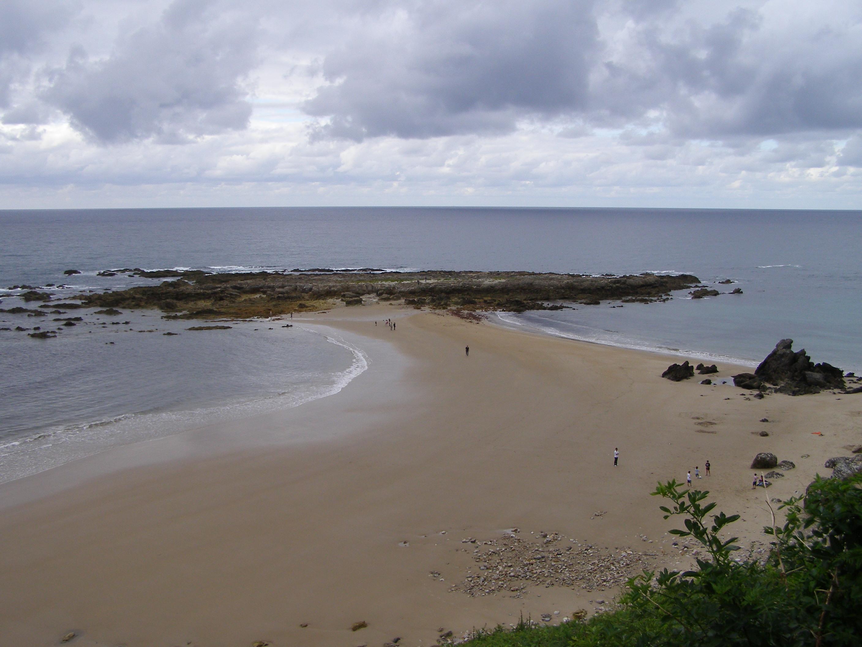 Foto playa Amió / Pechón. Las dos playas