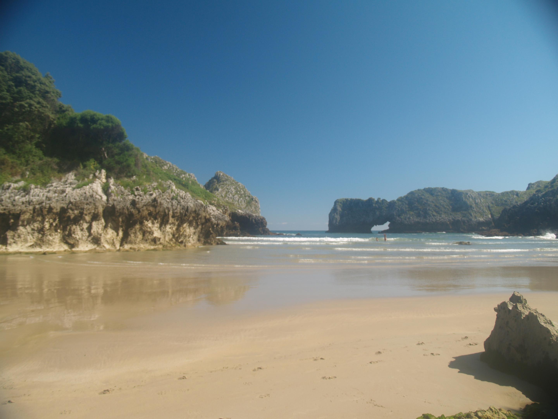 Foto playa Barnejo / Berellín. Prellezo