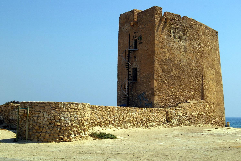Foto playa La Fuente. Torreon de Cope, Aguilas, Murcia