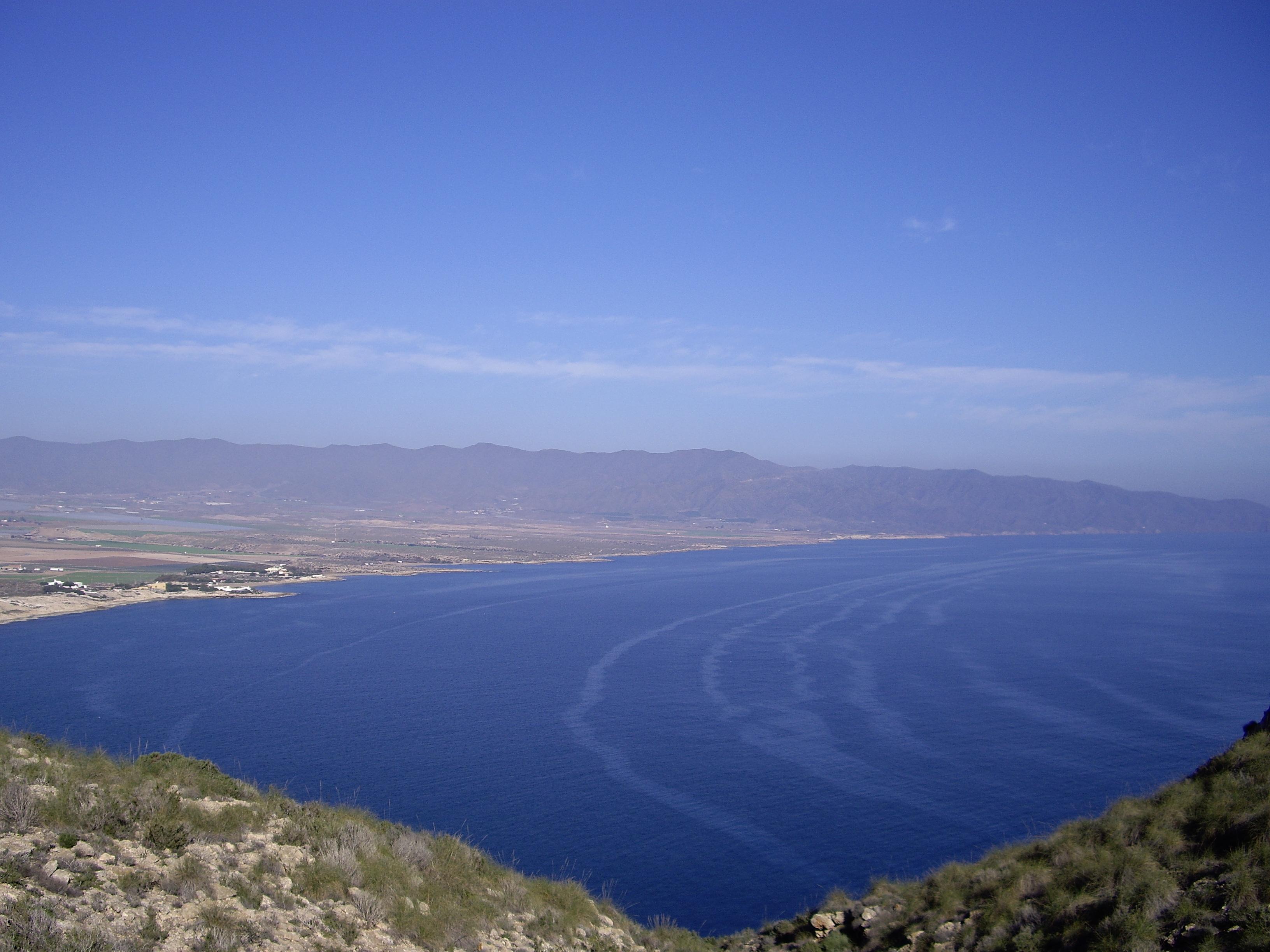 Foto playa La Fuente. Desde Cabo Cope