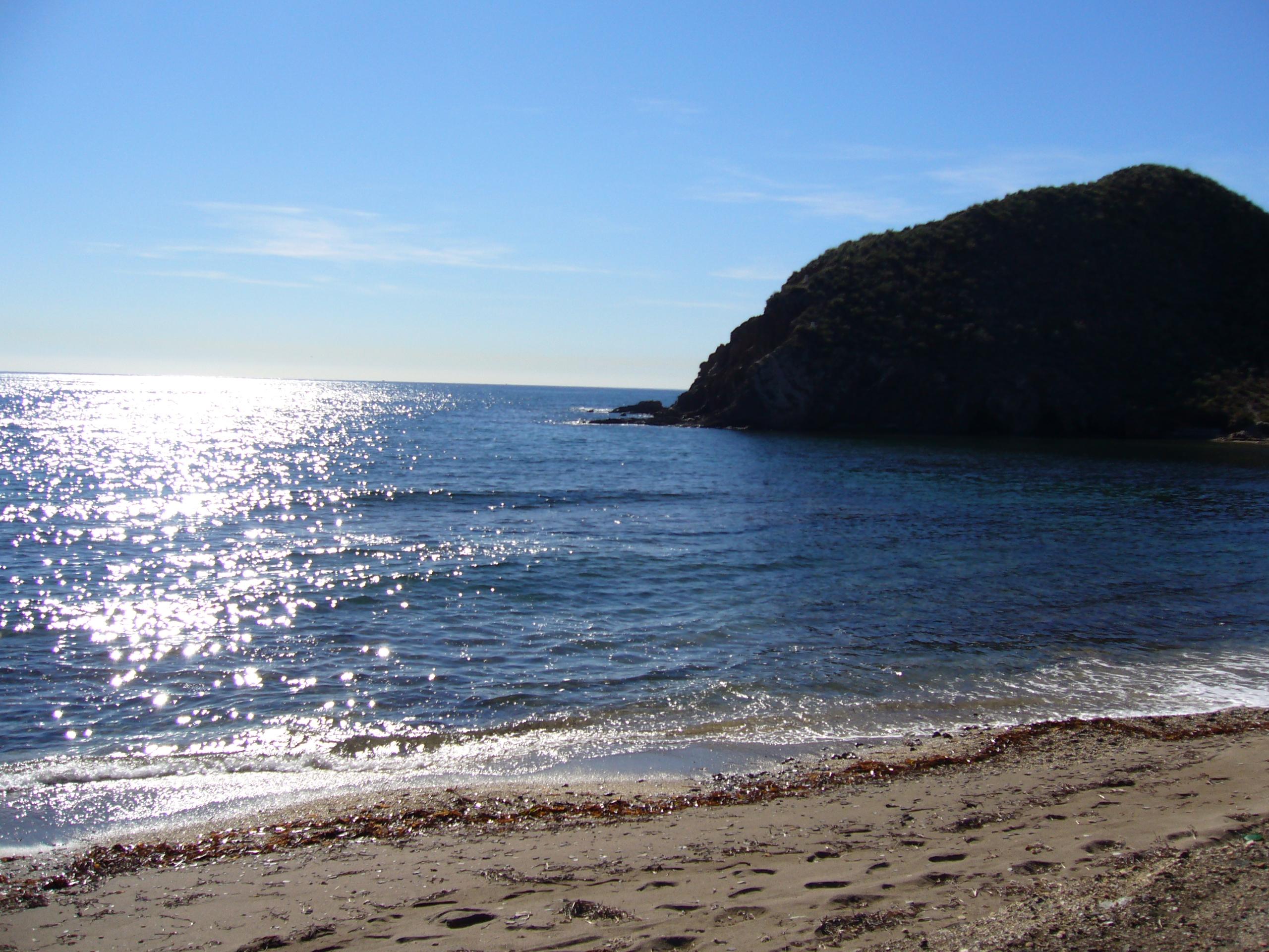 Foto playa La Fuente. cala