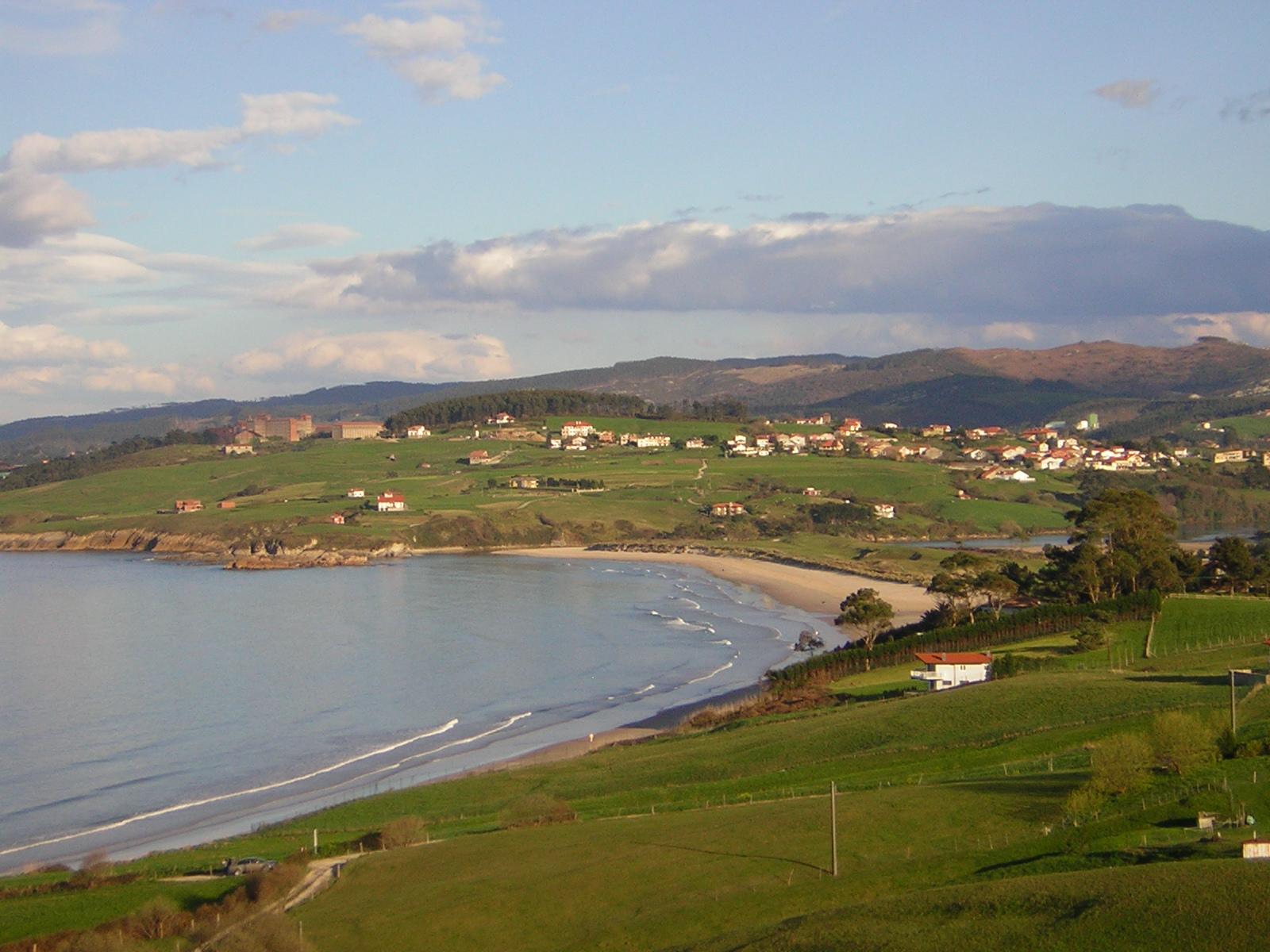 Foto playa El Cabo / Gerra / Bederna. Oyambre