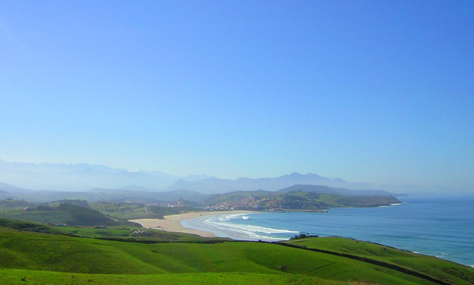 Foto playa El Cabo / Gerra / Bederna. San Vicente de la Barquera. Playa