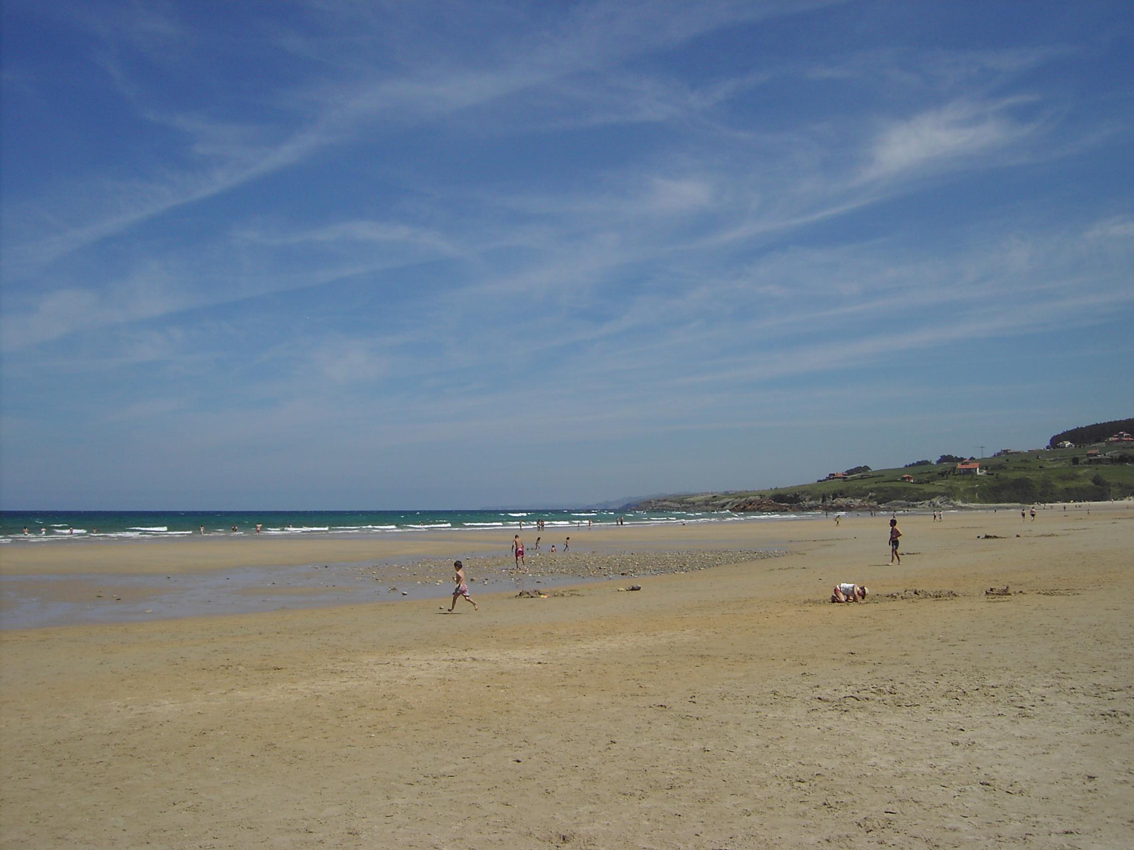 Foto playa Oyambre. Playa de Oyambre (Cantabria)