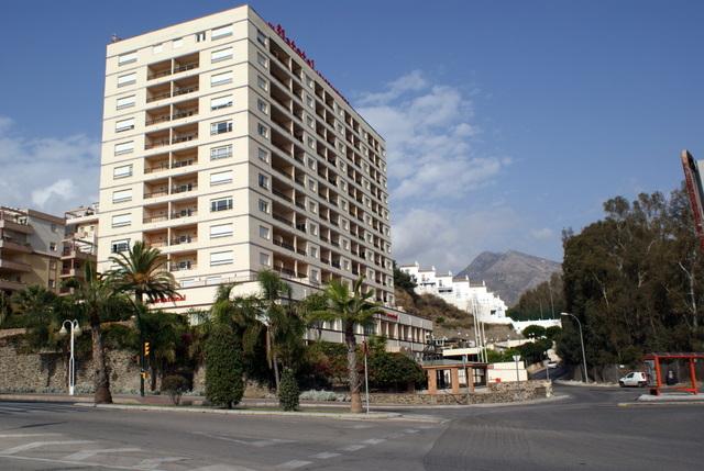 Foto playa Las Yucas. Flat Hotel International, Benalmadena