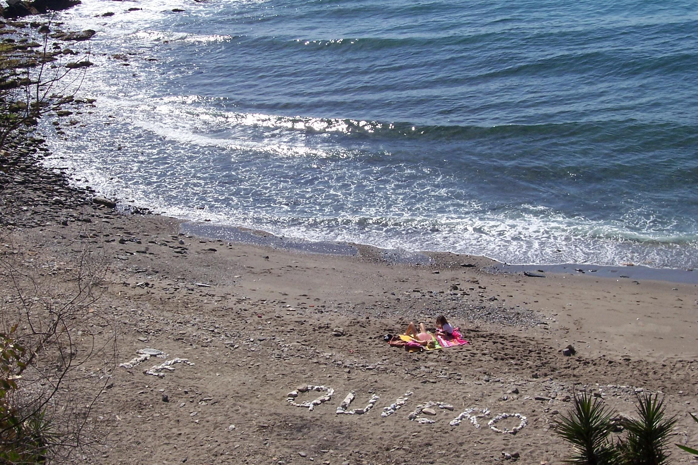 Foto playa Las Yucas. To my wife