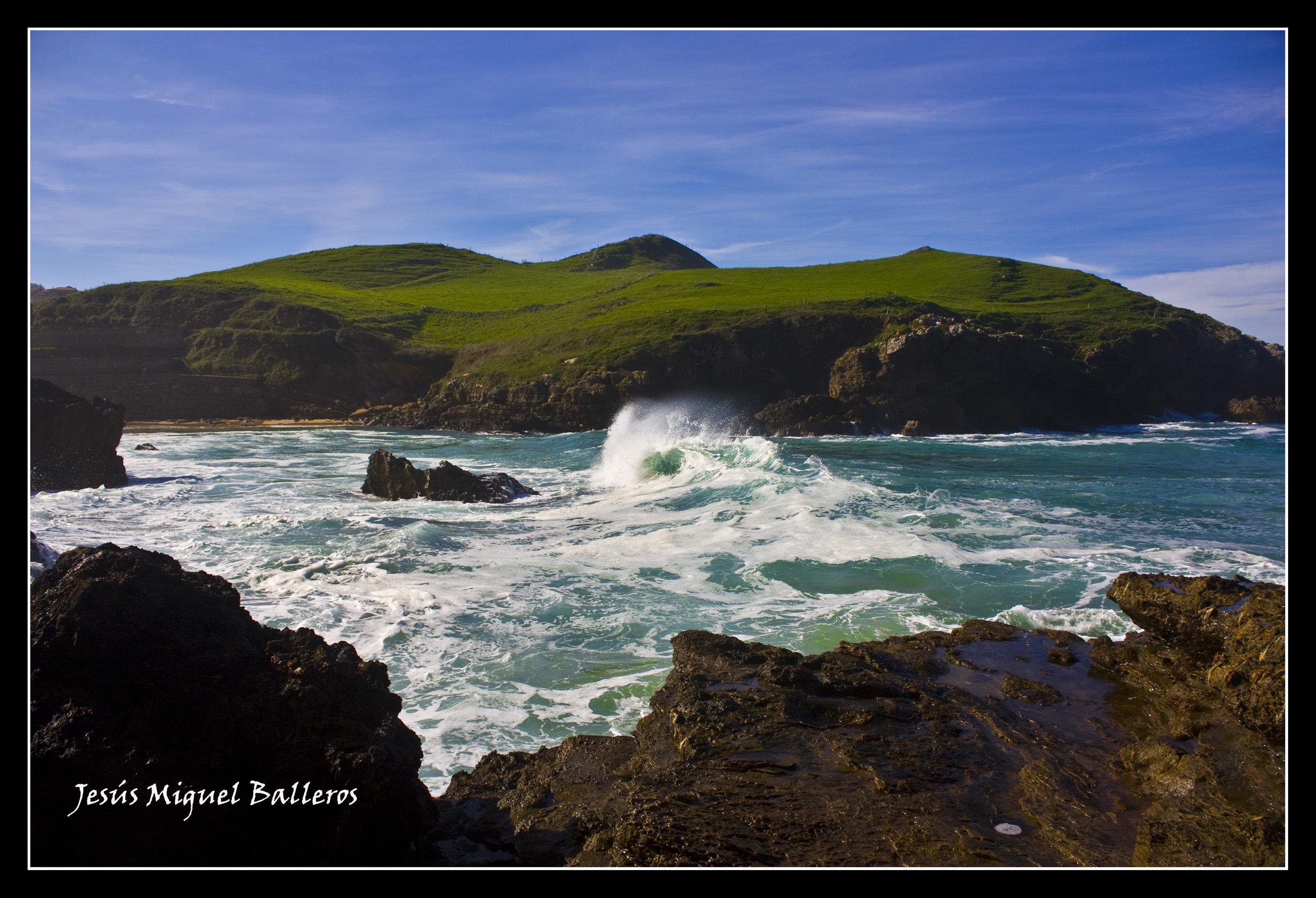 Foto playa Santa Justa. *Mar Picada