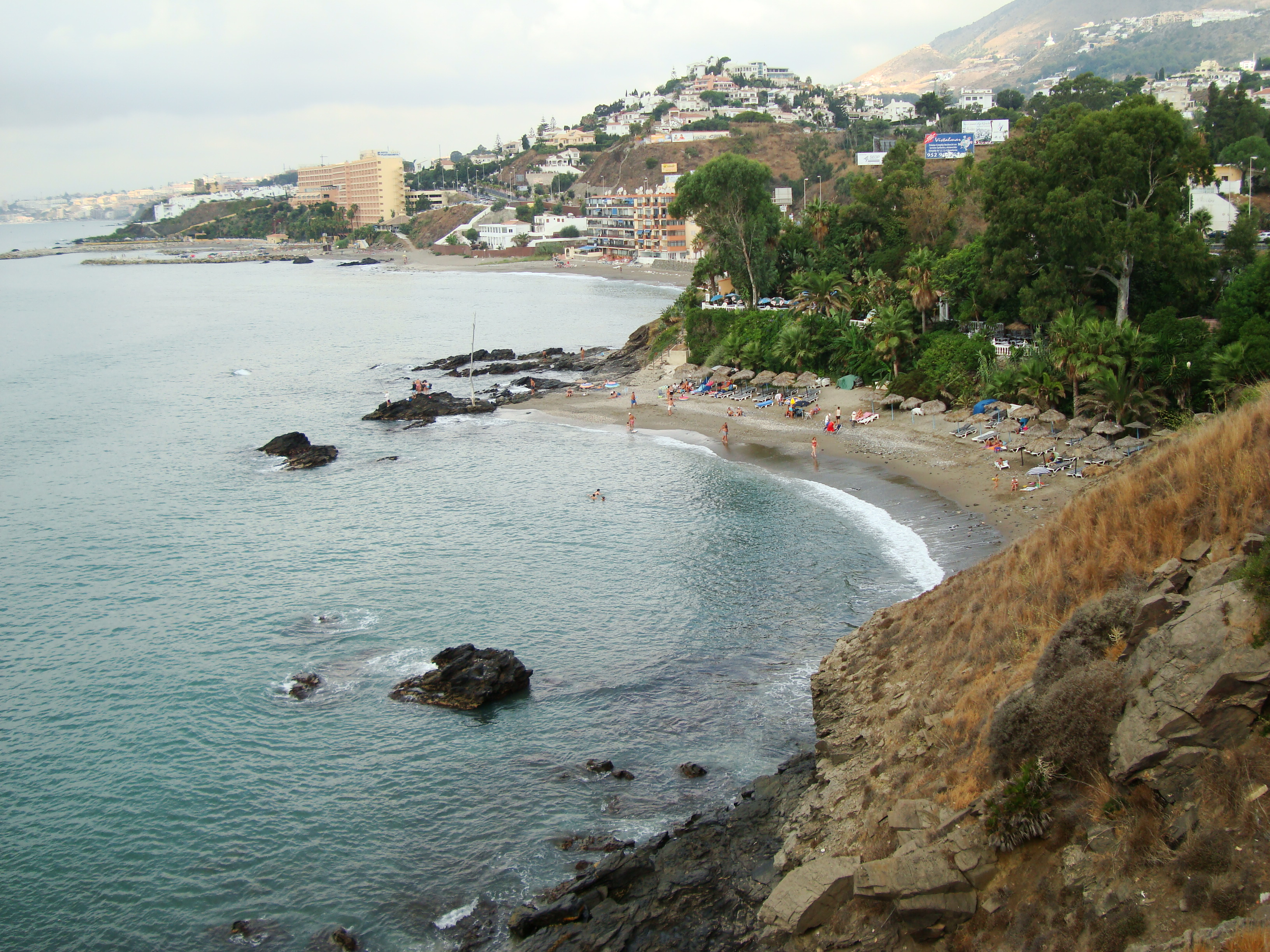 Foto playa Las Yucas. Benalmadena Costa