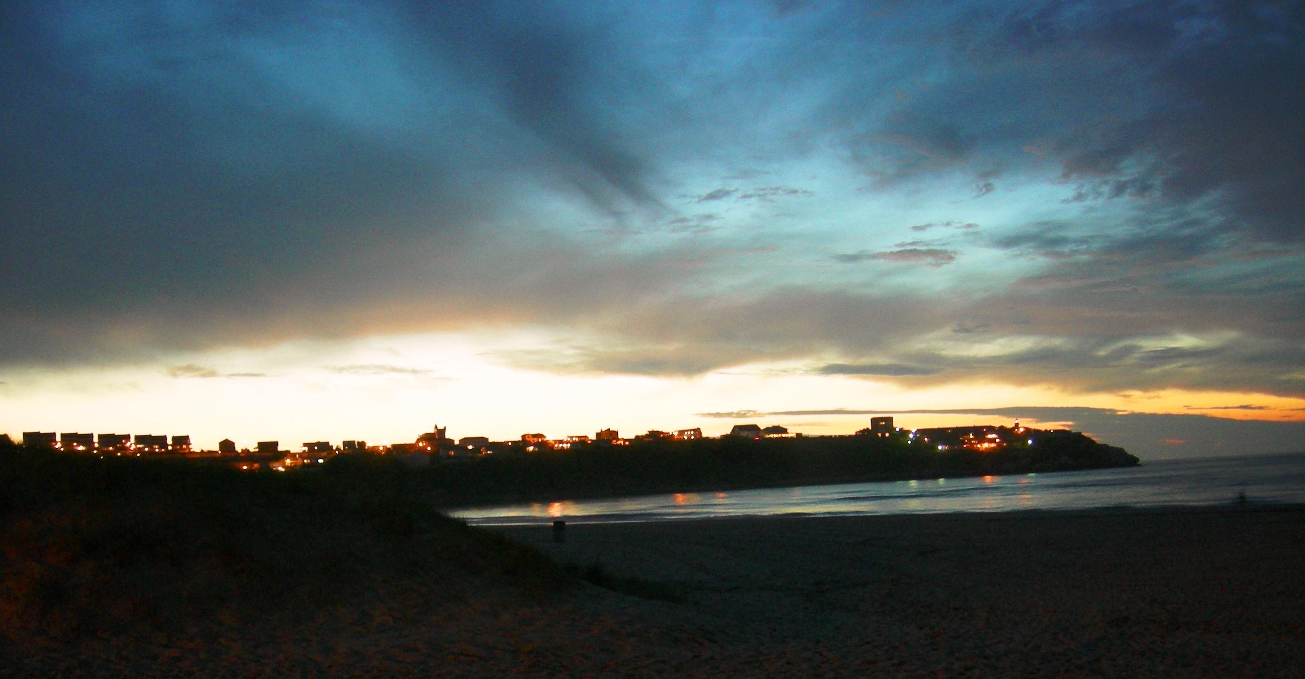 Foto playa La Riberuca. Suances