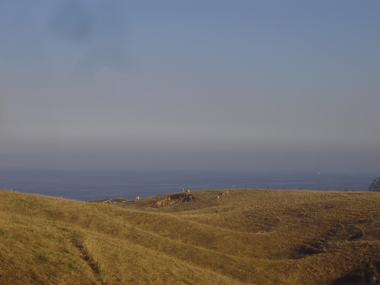 Foto playa Cuchia / Marzán. Paisaje en . Cuchía, Miengo (Cantabria)