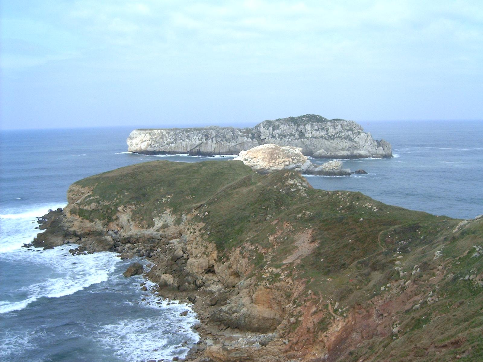 Foto playa Cuchia / Marzán. La isla de Los Conejos
