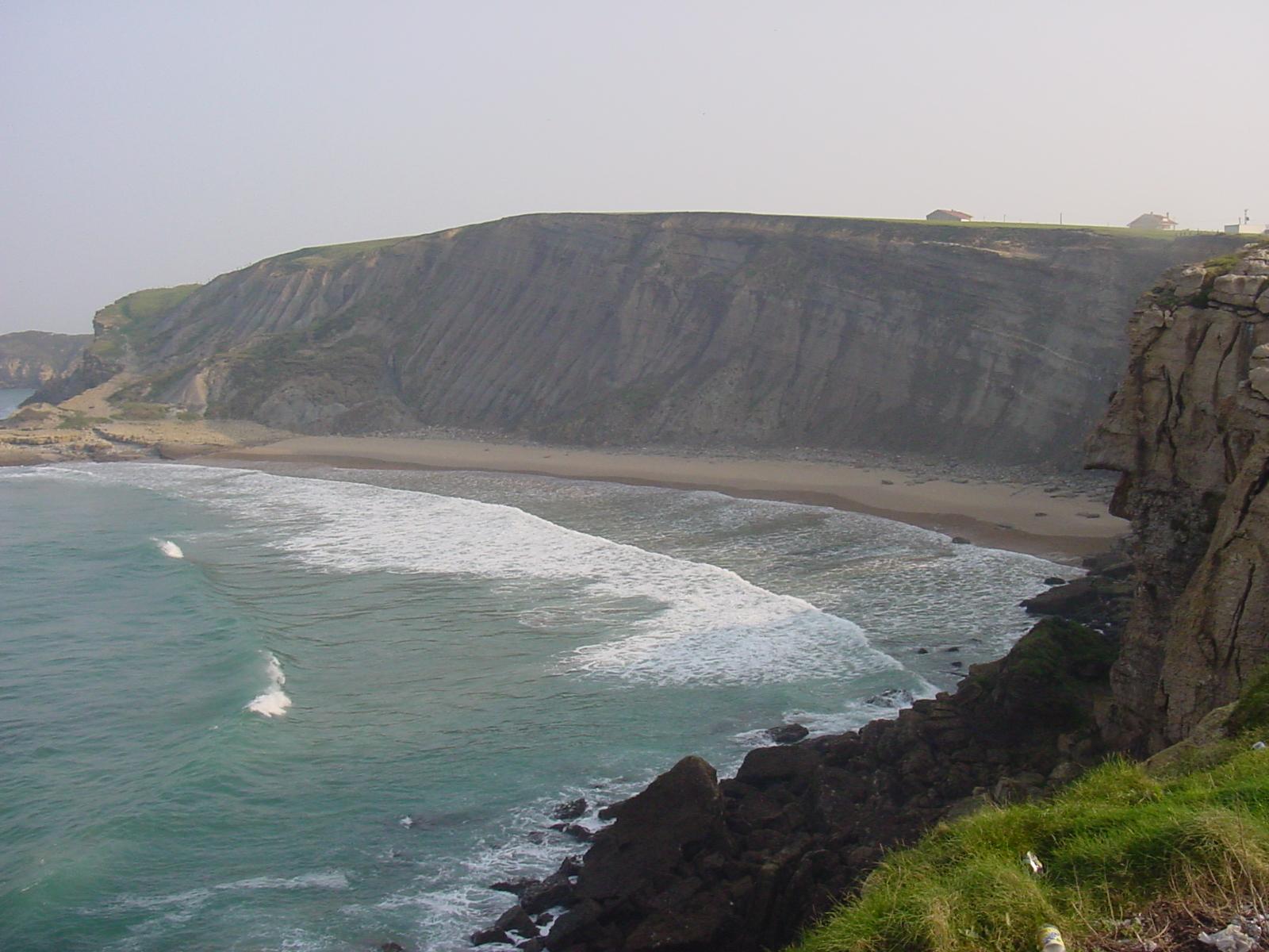 Foto playa Cuchia / Marzán. Playa de los Caballos