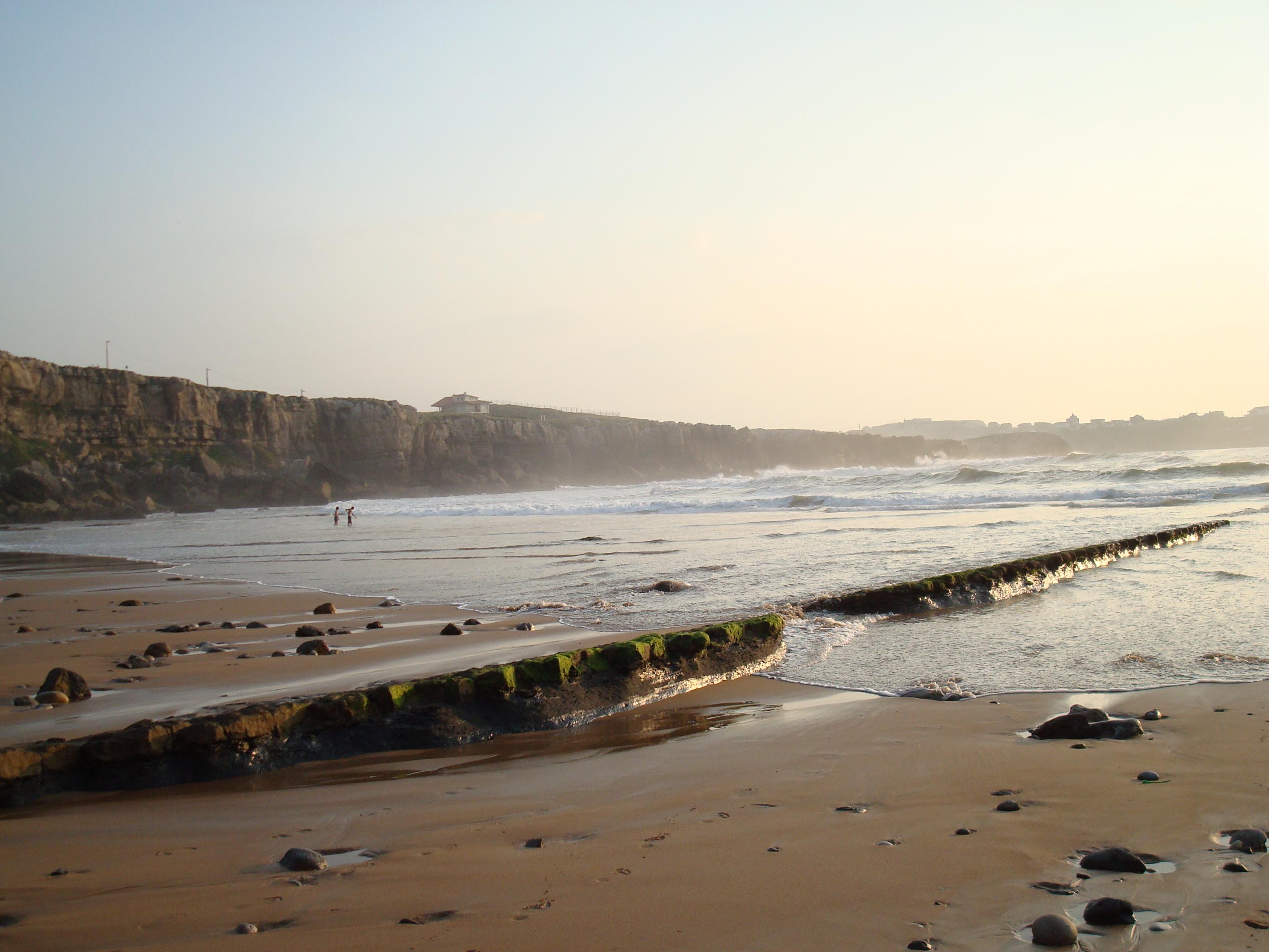 Foto playa Cuchia / Marzán. playa de los caballos-suances