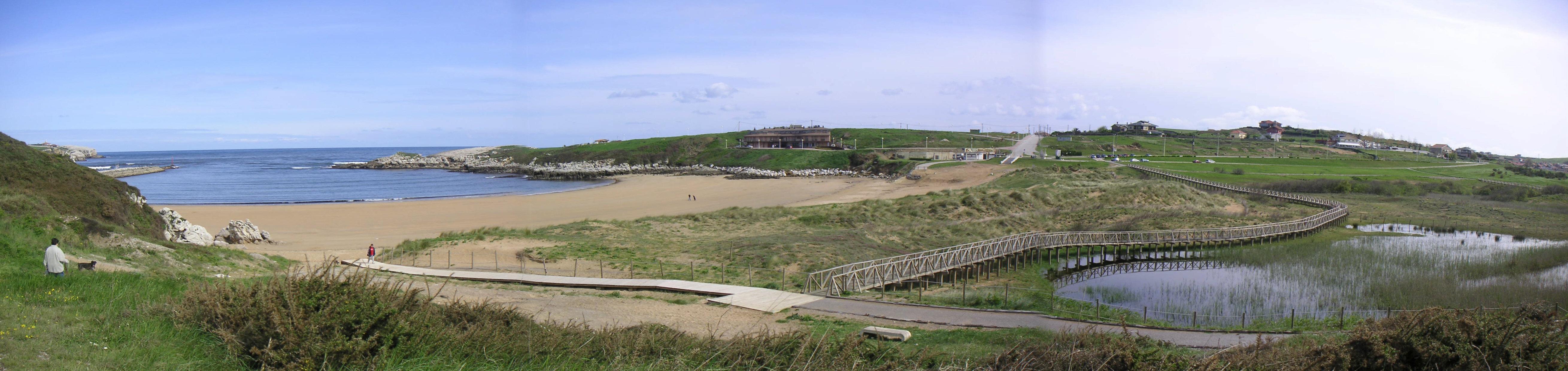 Foto playa Los Caballos / Umbreda. Dunas de Marzan