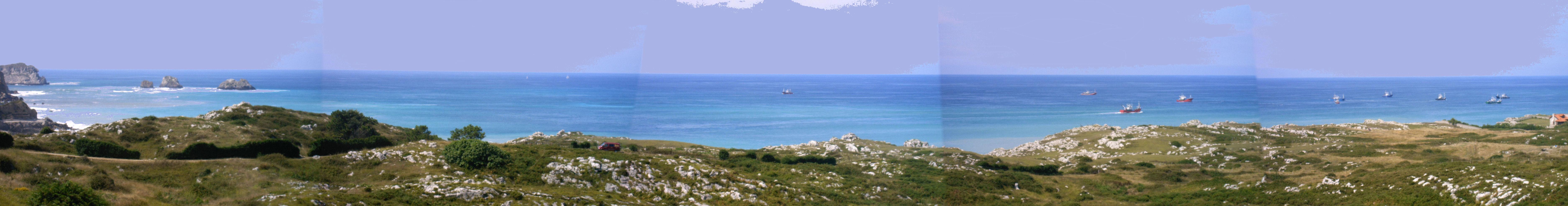 Foto playa Usgo. Usgo y el Alta