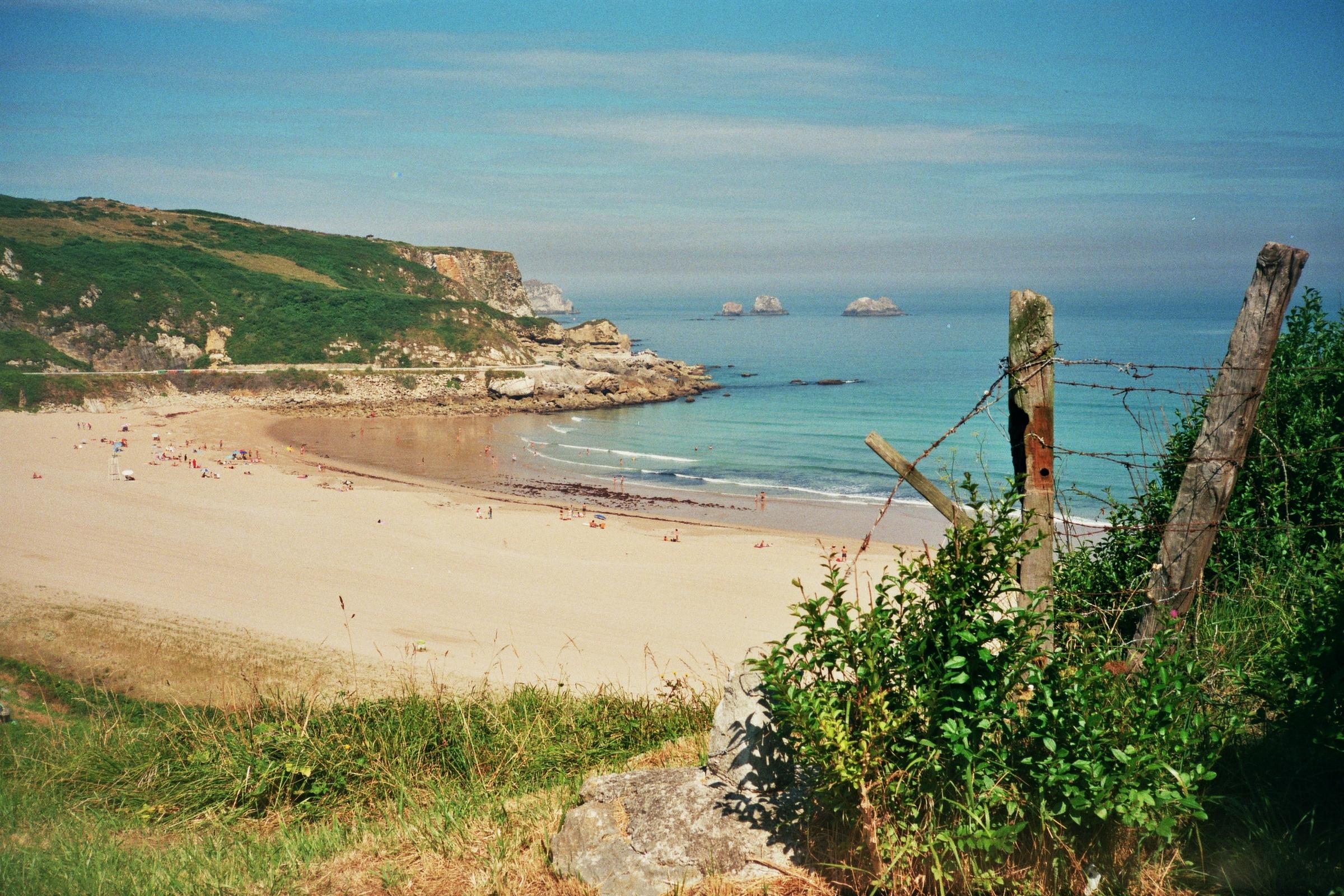 Foto playa Usgo. Vista de Usgo