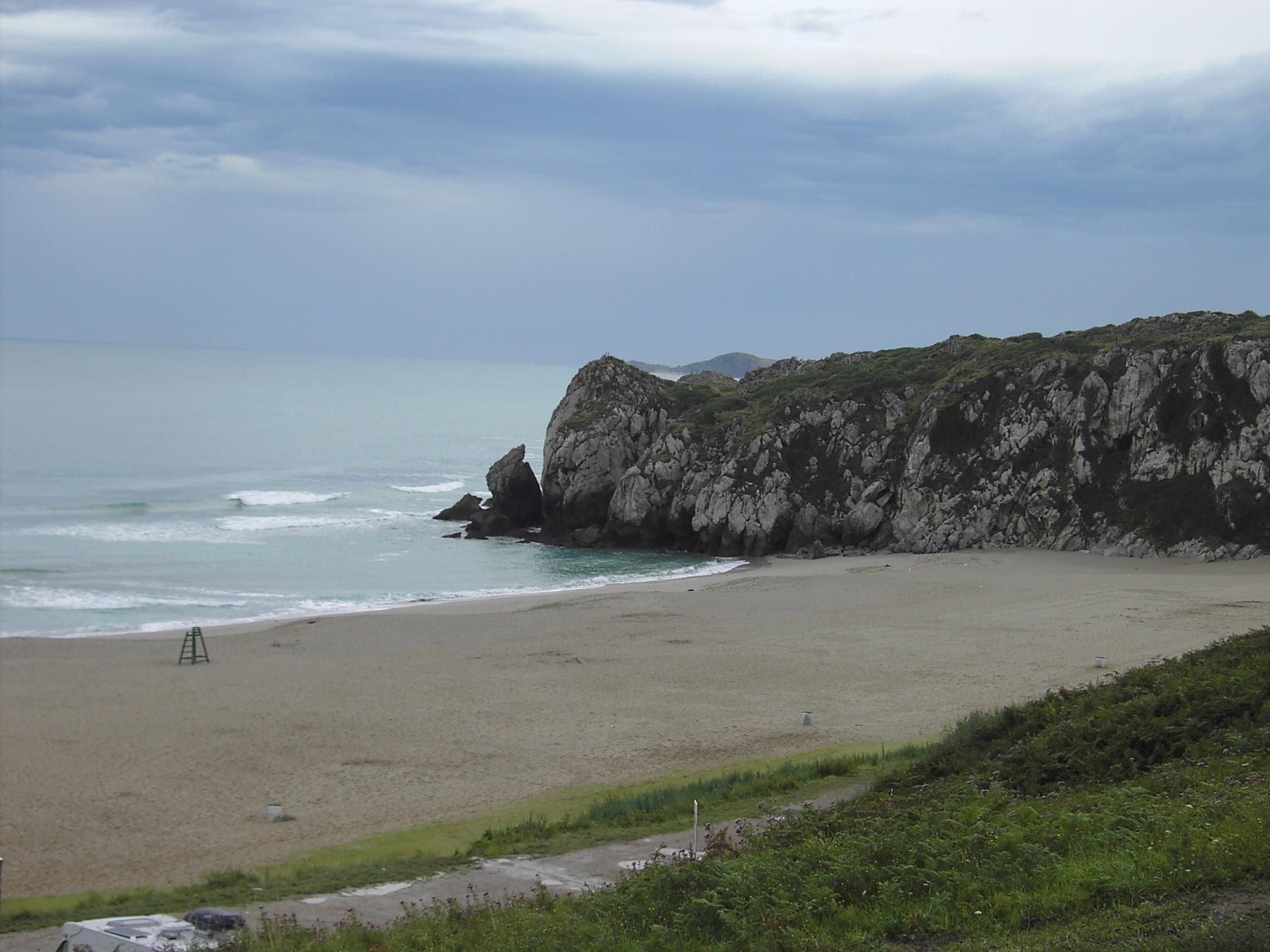 Foto playa Usgo. Playa de Usgo - Miengo -(Cantabria)