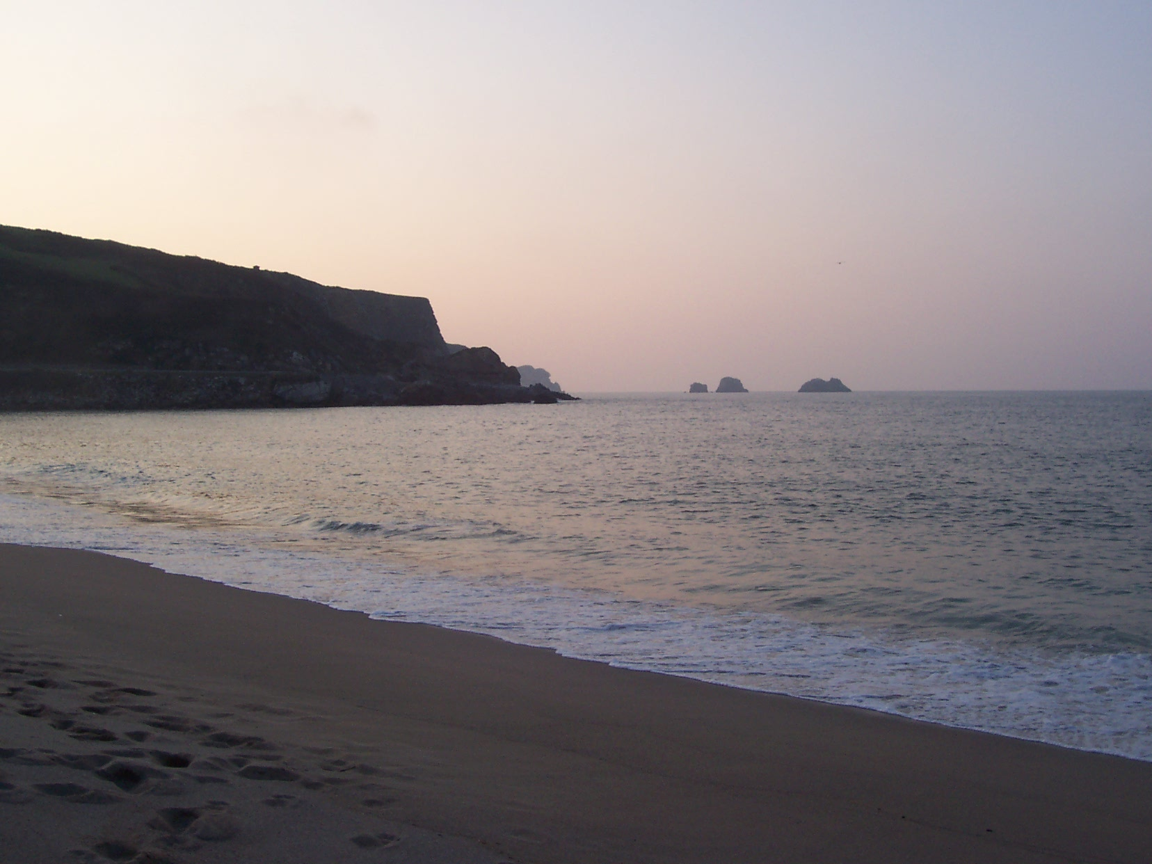Foto playa Usgo. Usgo - Atardecer