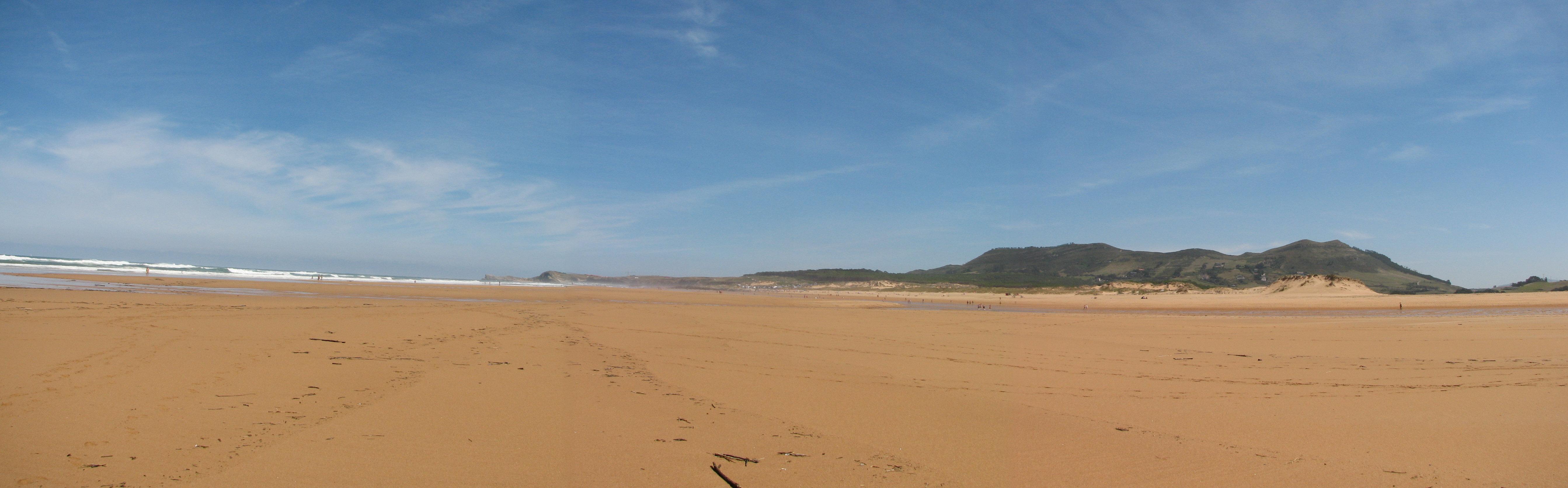 Foto playa Robayera. Playa de Liencres