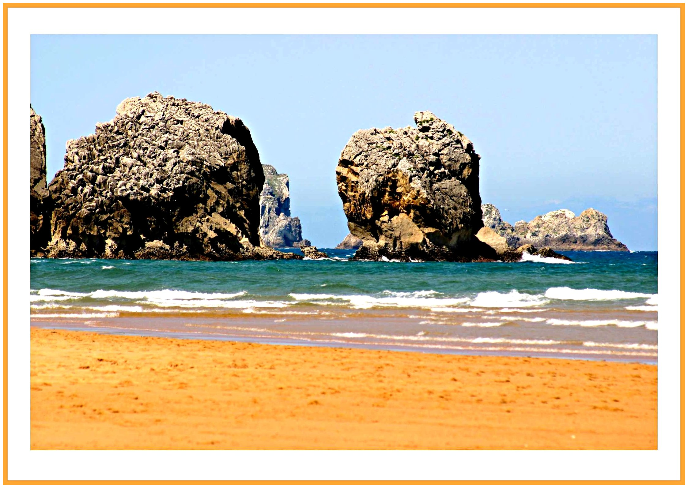 Foto playa Mogro / Usil.