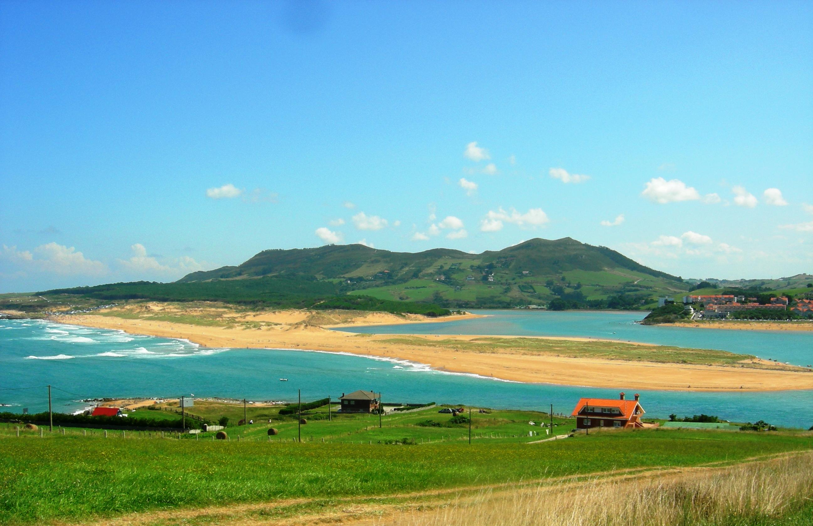 Foto playa Mogro / Usil. Playa de Liencres