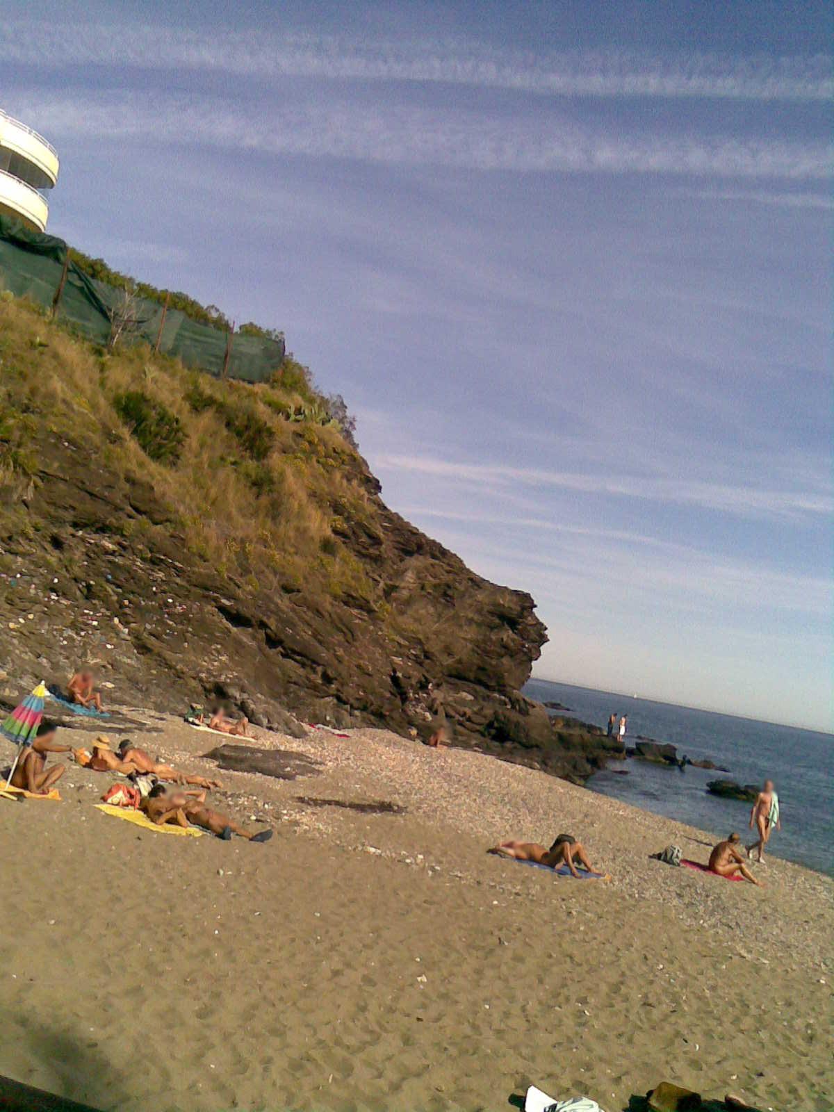 Foto playa Las Viborillas. Benalnatura