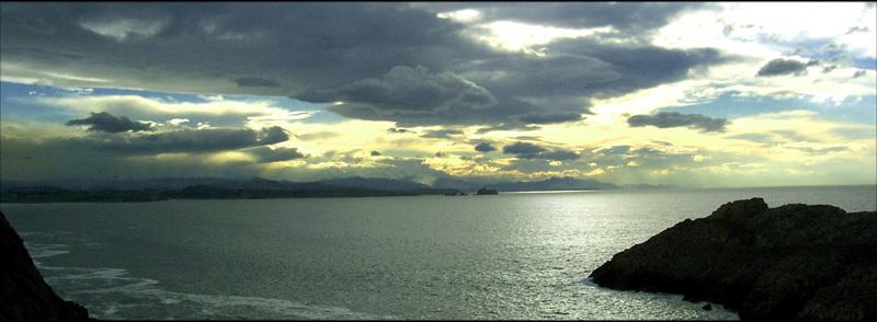 Foto playa Hondarribia. somocuevas
