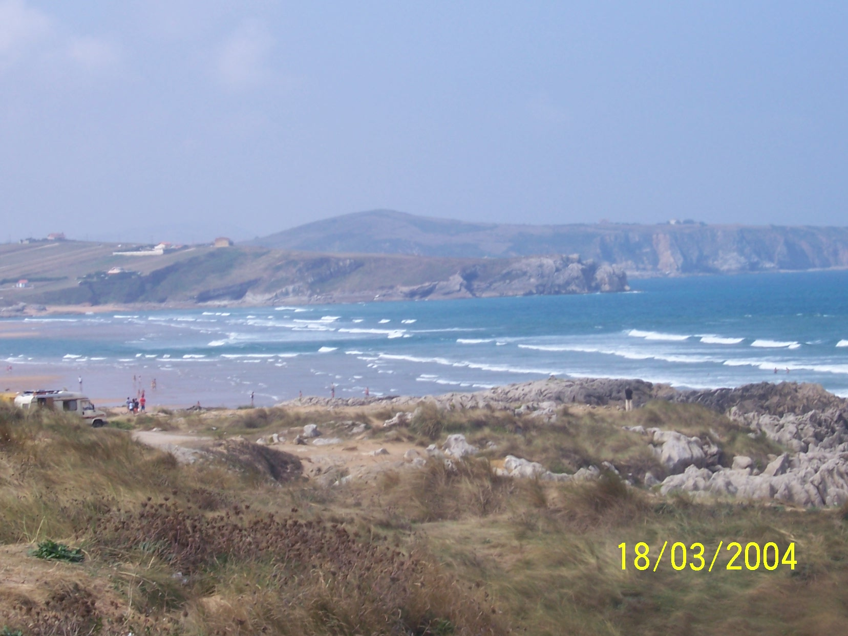 Foto playa Hondarribia. santander e dintorni