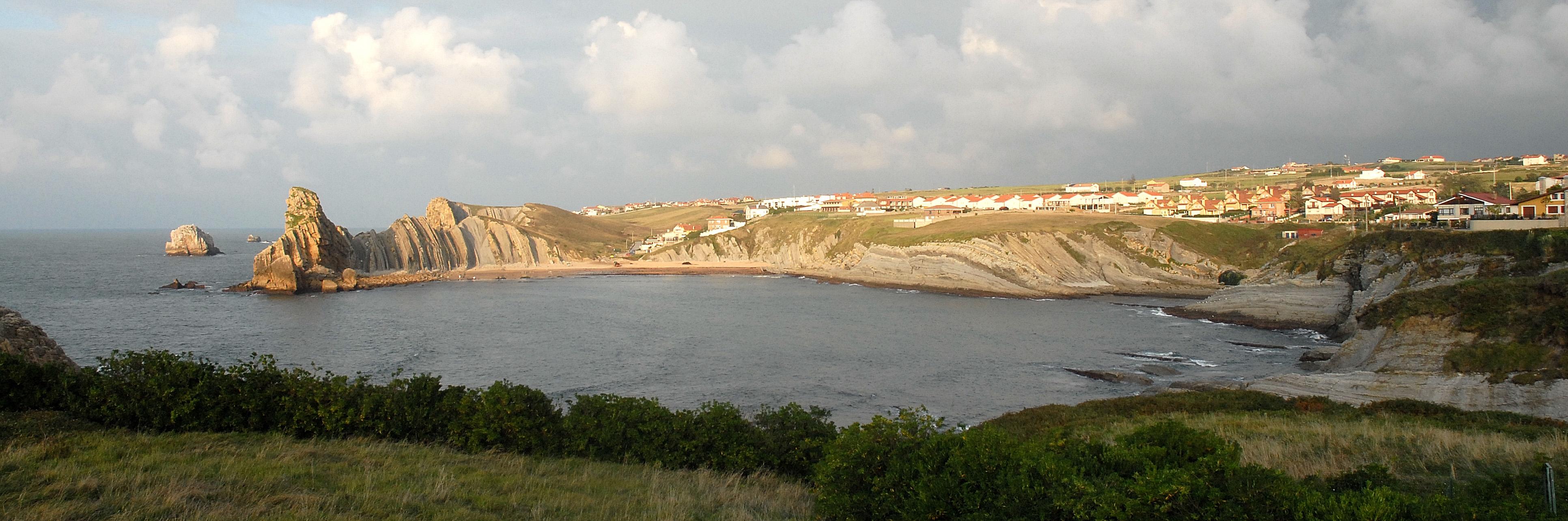 Foto playa Hondarribia. Liencres (costa).