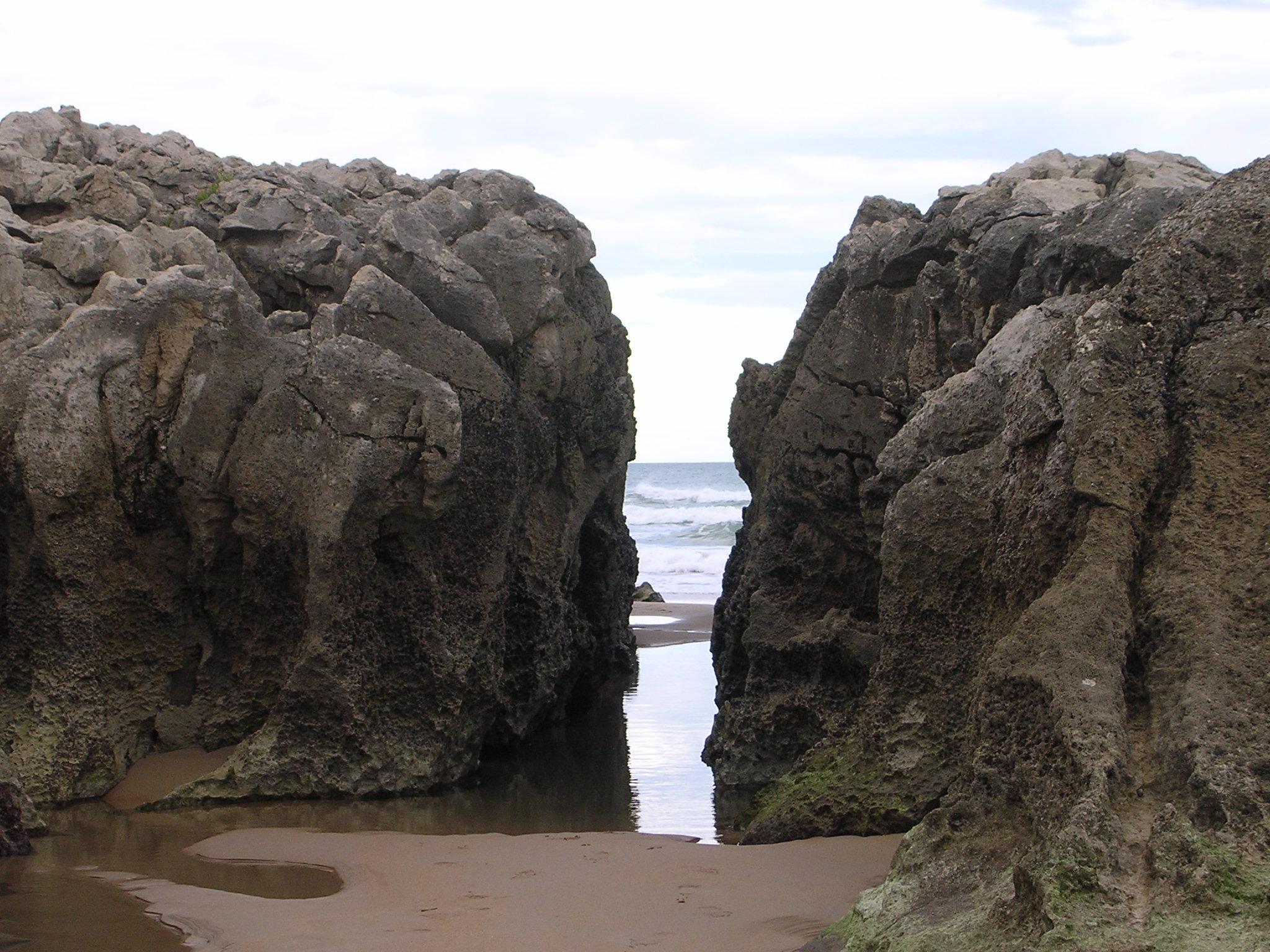 Foto playa Hondarribia. Santander - Liencres
