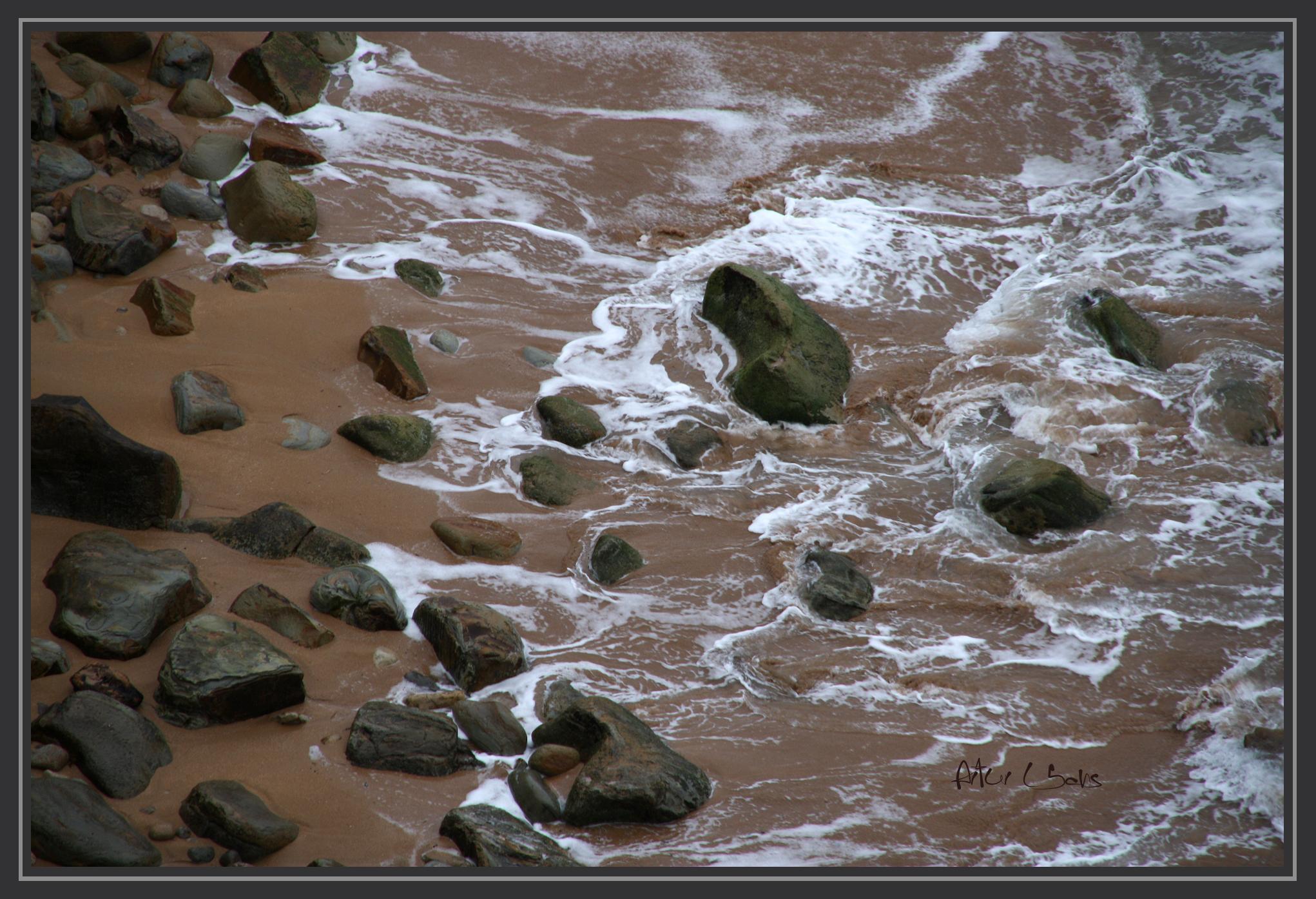 Foto playa Inpernupe. Espuma