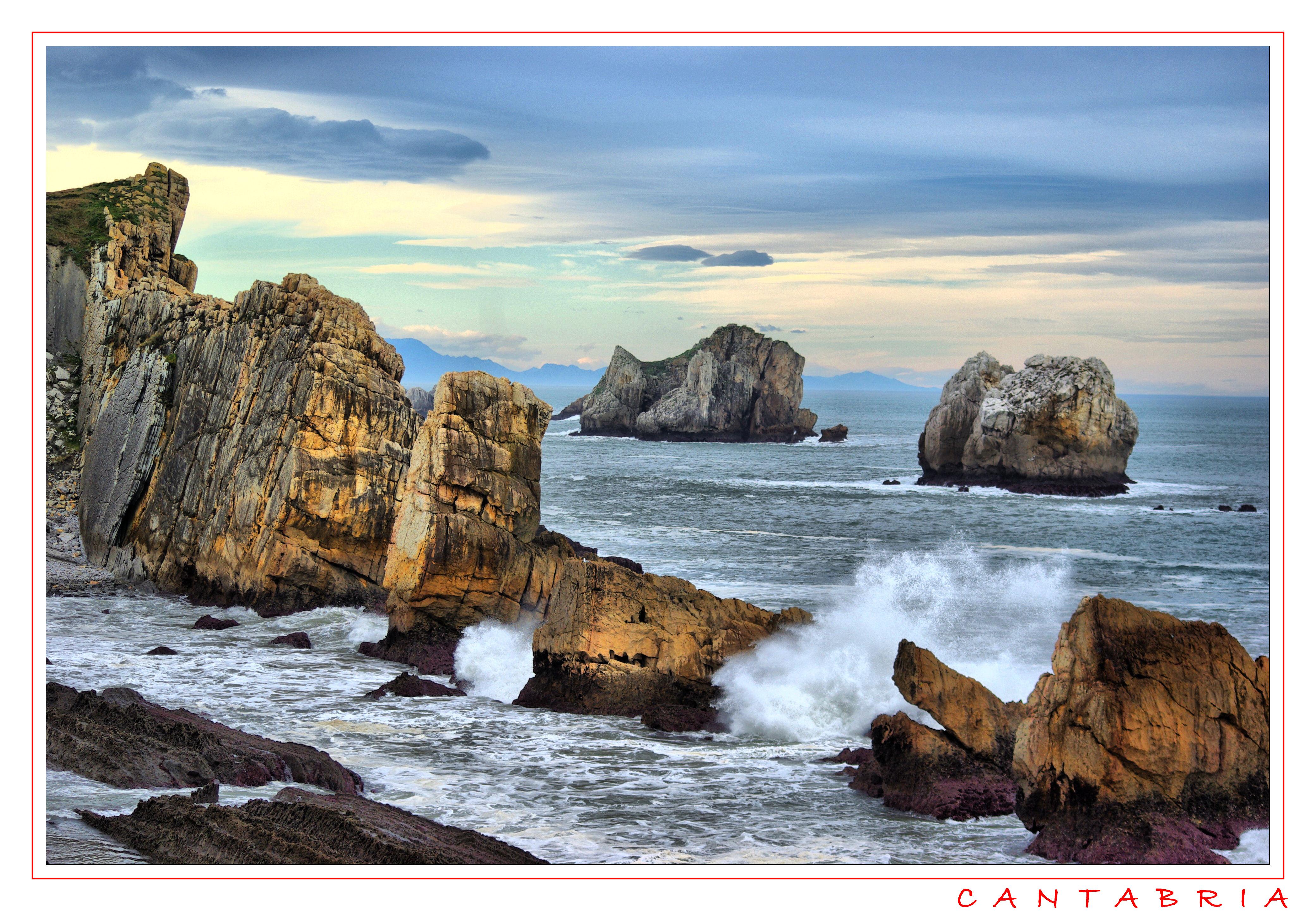 Foto playa Santiago. LOS DIENTES DEL MAR