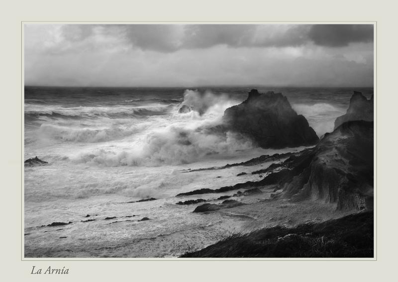 Foto playa Covachos. La Arnía