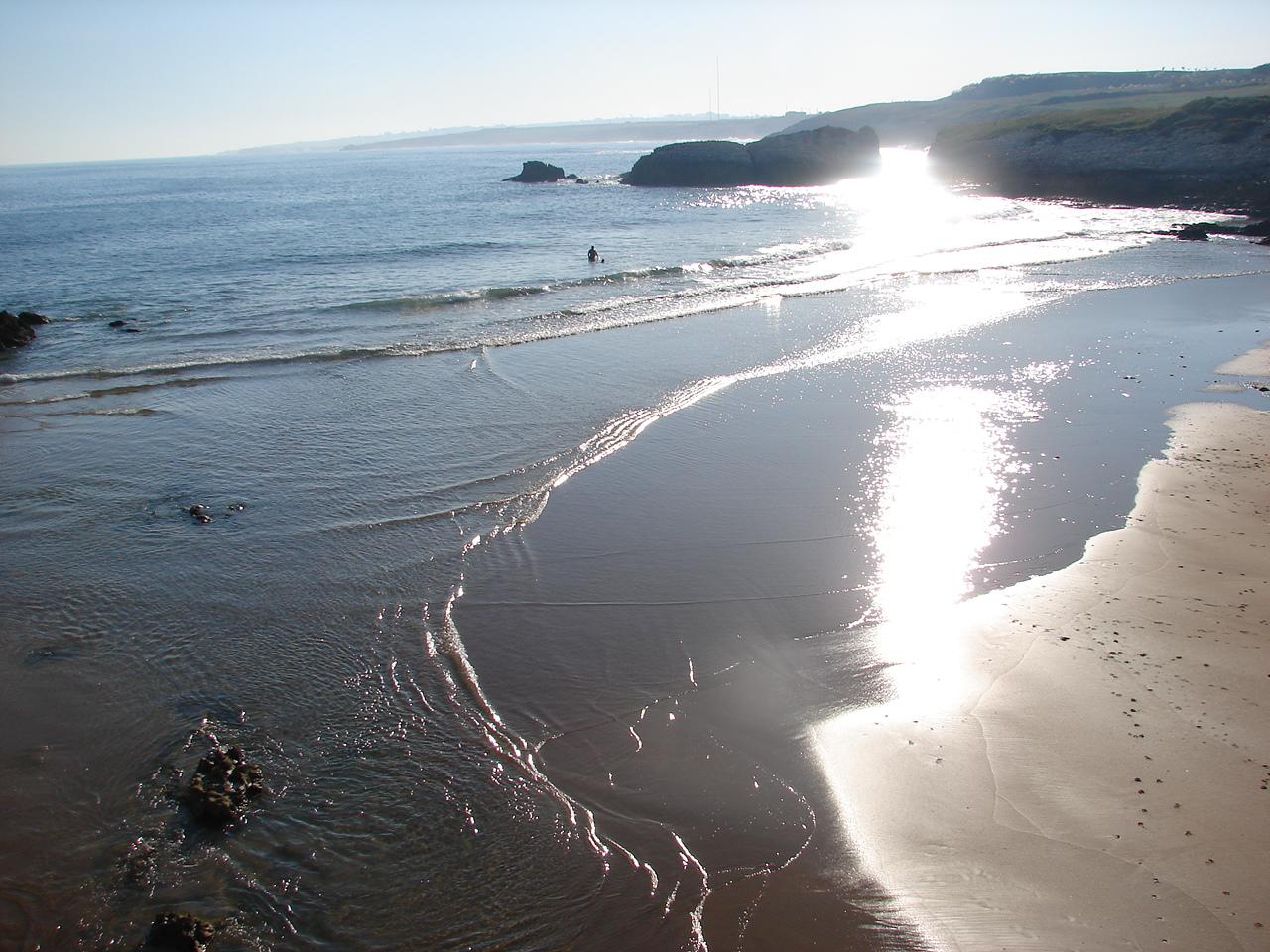 Foto playa Virgen del Mar. tranquilidad