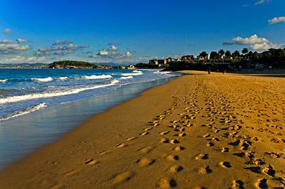 Foto playa Molinucos. sardinero