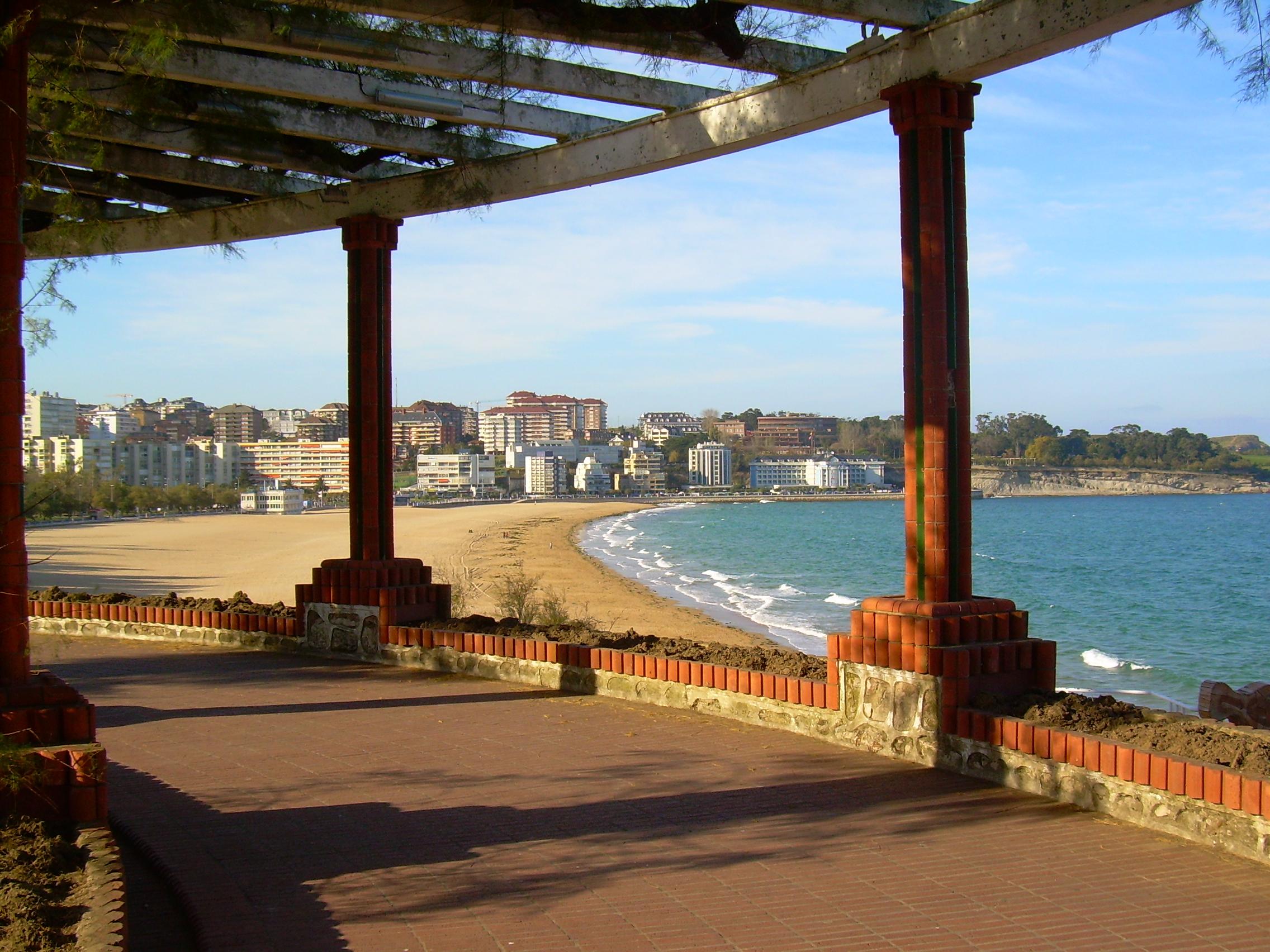 Foto playa Sardinero I. santander -Topide
