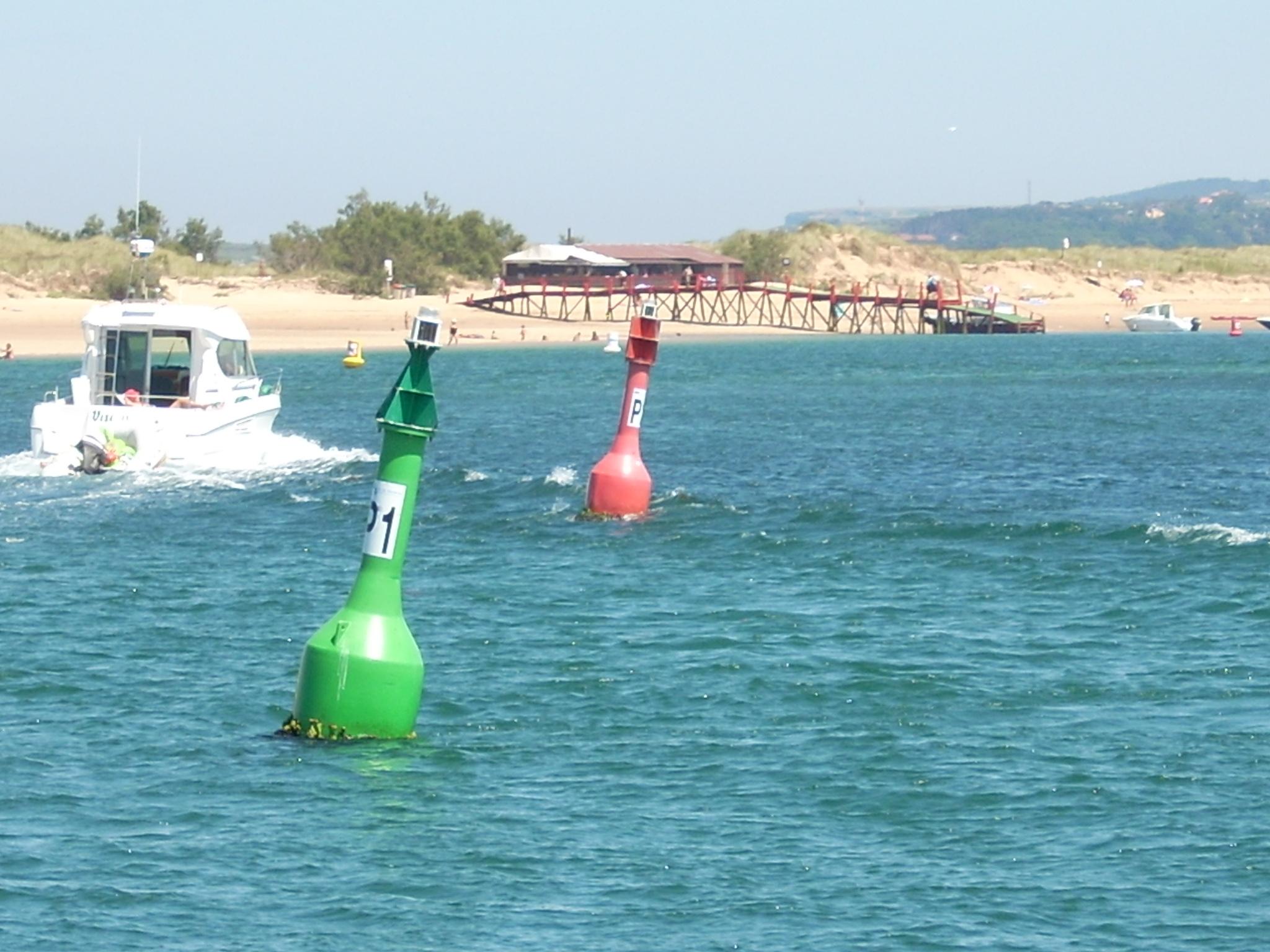 Foto playa El Rostro. Embarcadero del Puntal