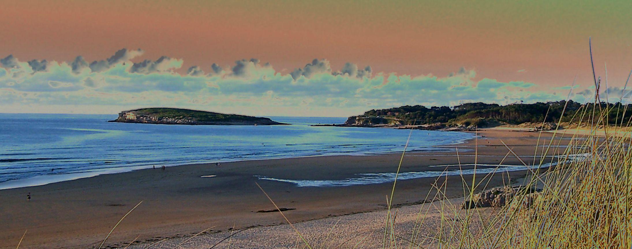 Foto playa Somo. LOREDO